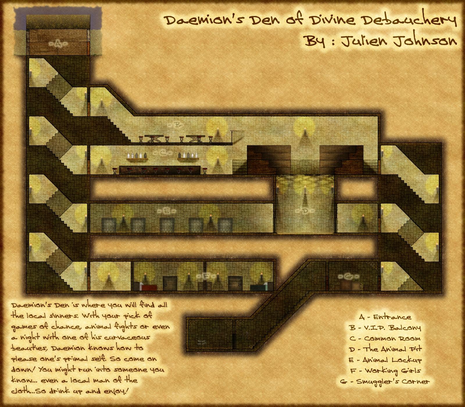 Daemion's Den of Divine Debauchery