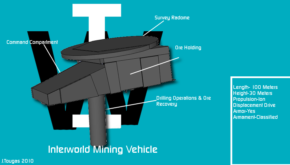 Interworld Mining Vehicle
