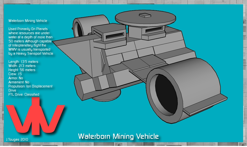 Seaborn Mining Vehicle