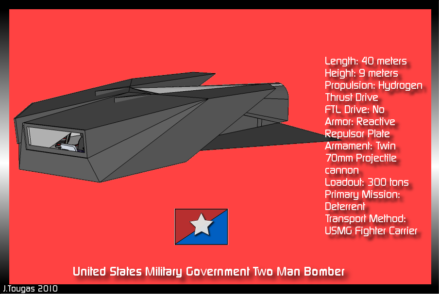 USMG Two Man Bomber