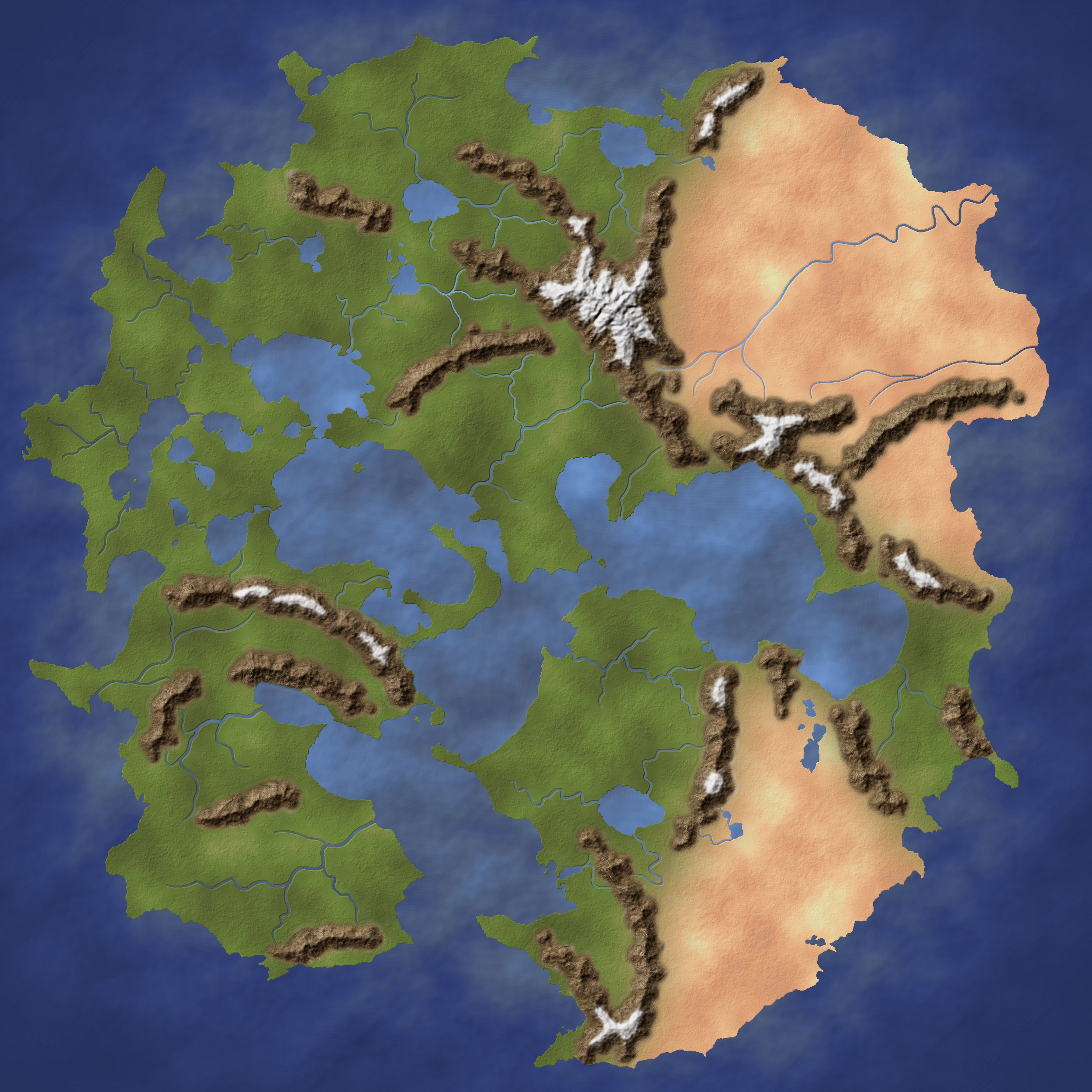 Unnamed Continent