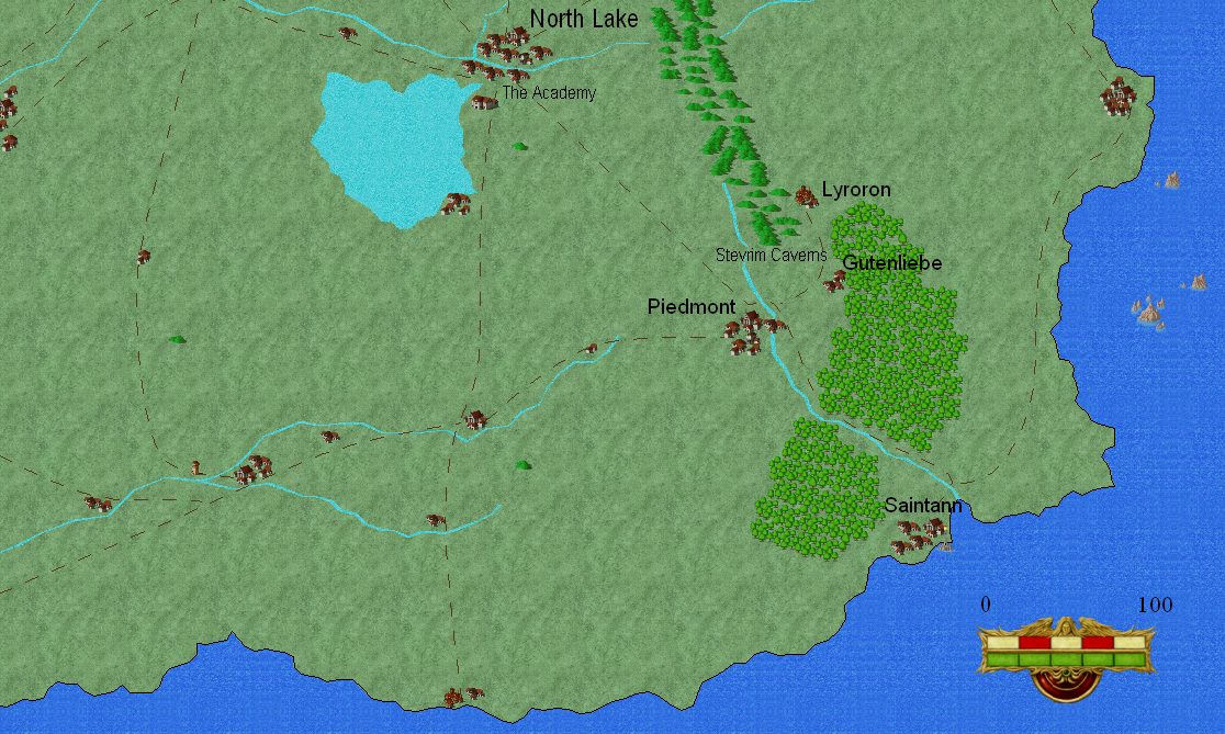 Central Basin Map
