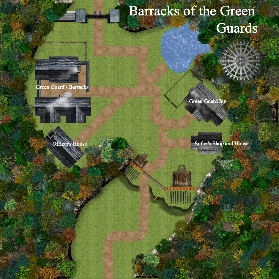 Barracks of the Green Guard