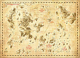 Uncharted Map A3 1
