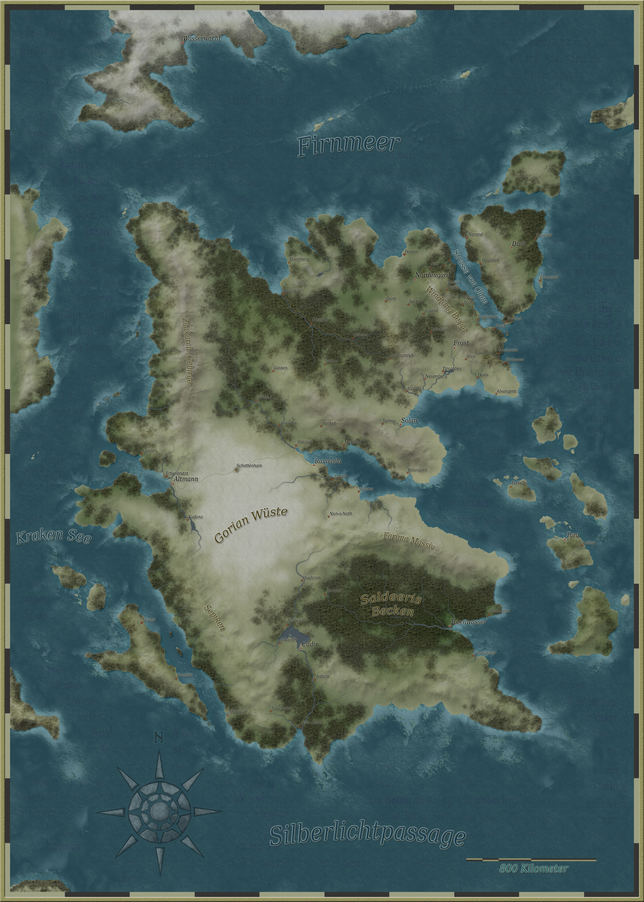The Eastern Continent of Tarnath