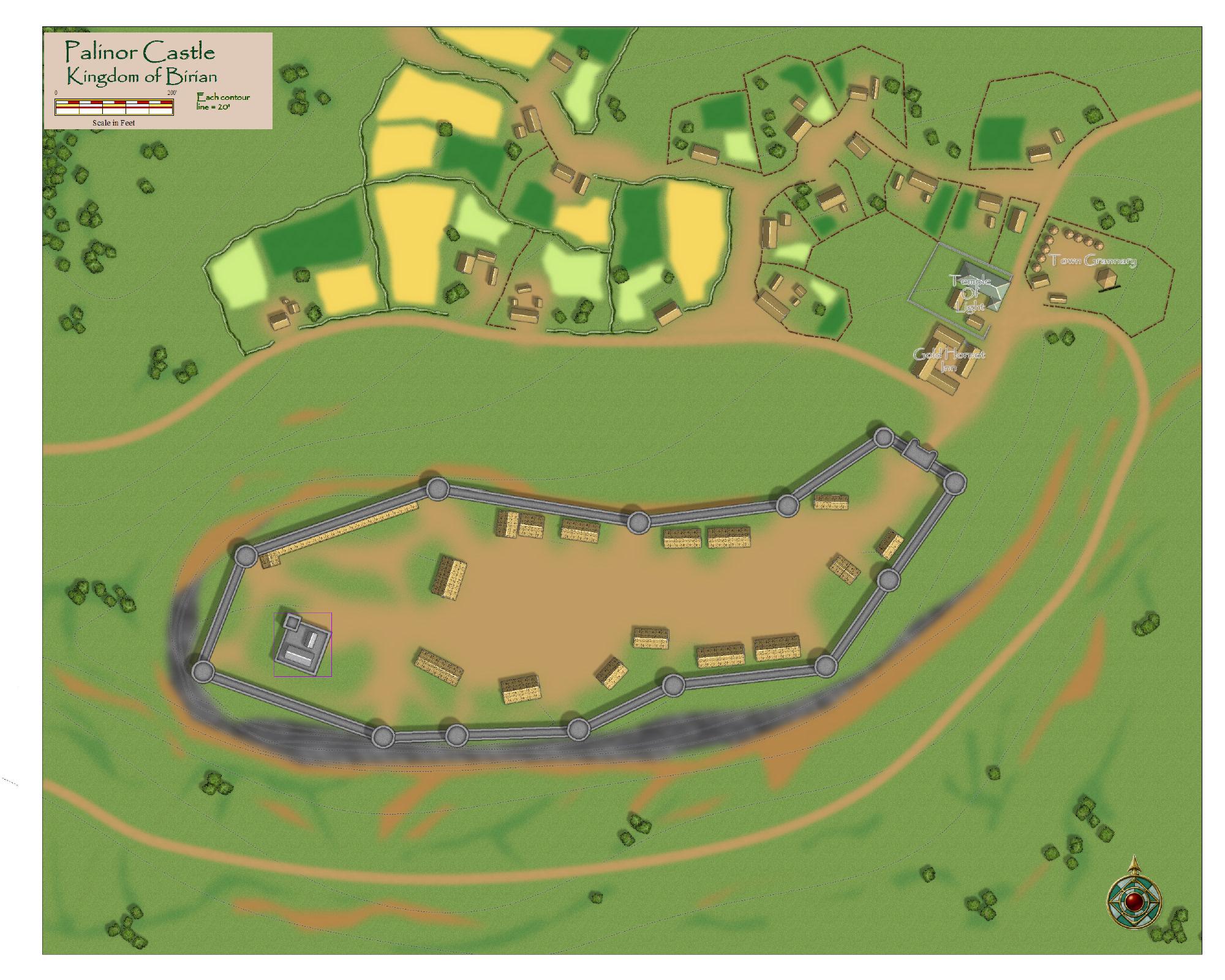 Palinor Castle   Birian