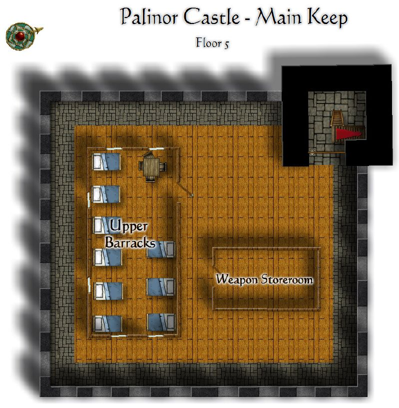 Palinor Castle   Keep Floor 5