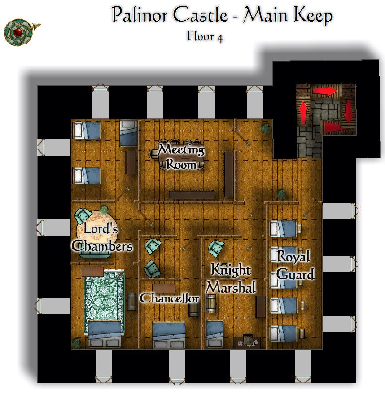 Palinor Castle   Keep Floor 4