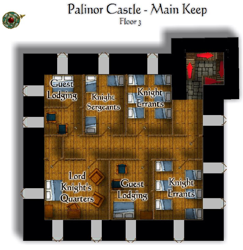 Palinor Castle   Keep Floor 3