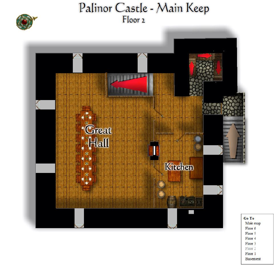 Palinor Castle   Keep Floor 2