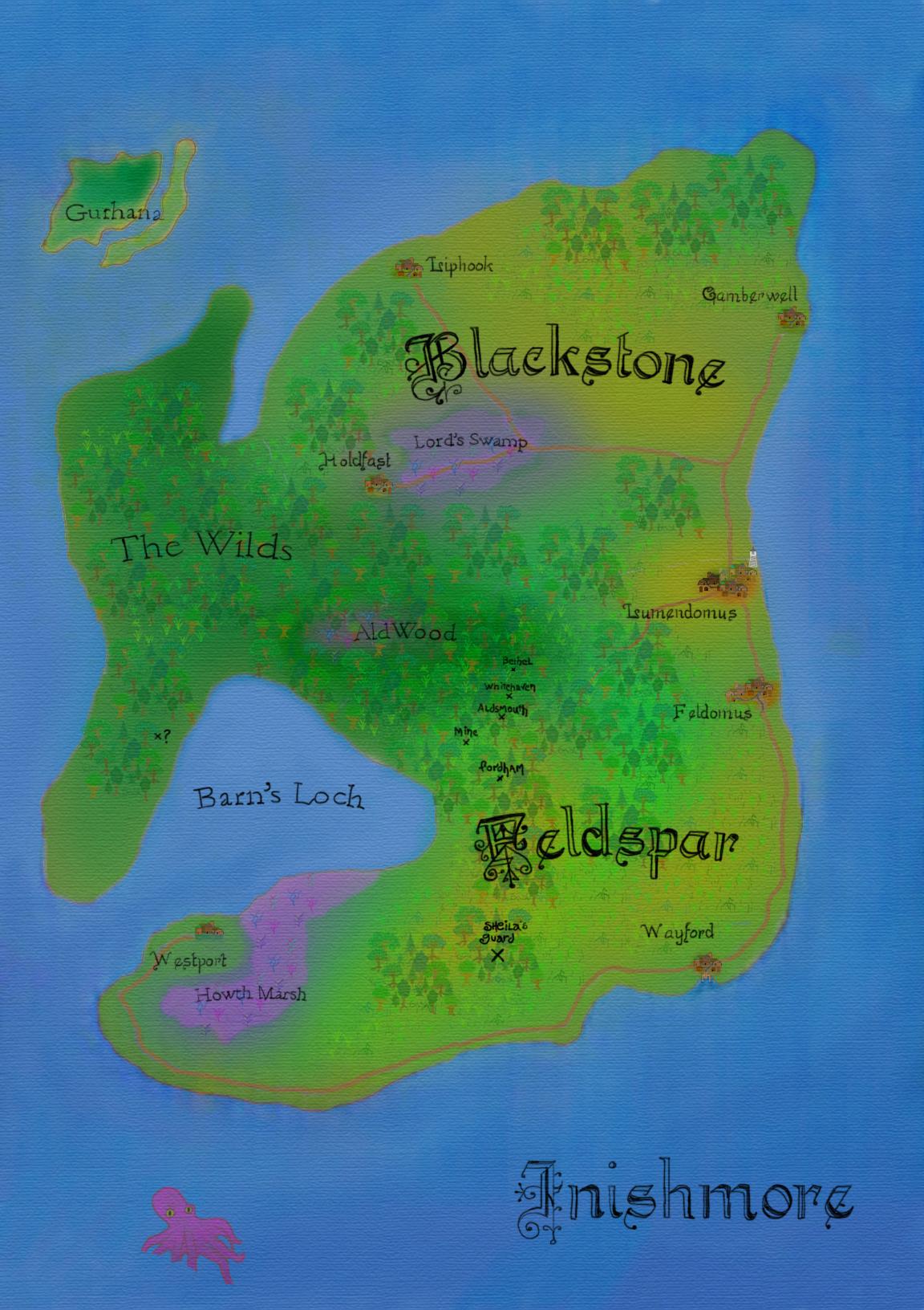 inishmore map