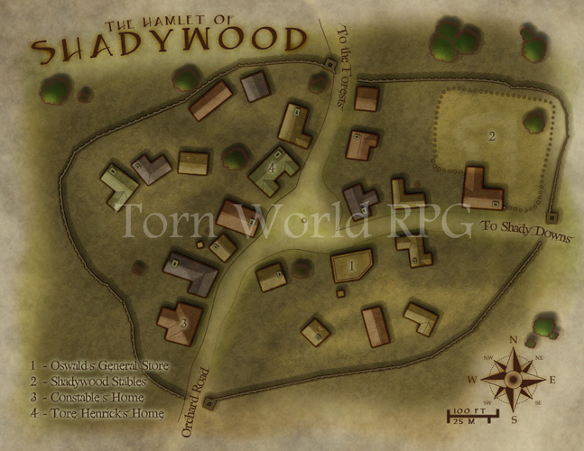 The Hamlet of Shadywood, , for the folks at Torn World: http://www.tornworld.com/