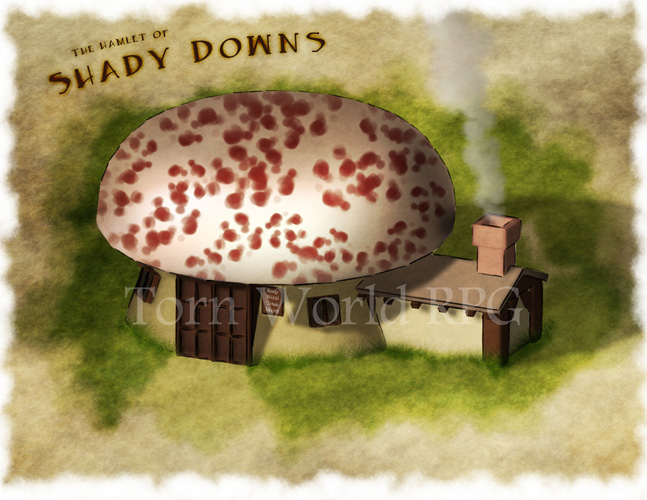 One of the mushroom houses of Shady Downs. For the folks at Torn World: http://www.tornworld.com/