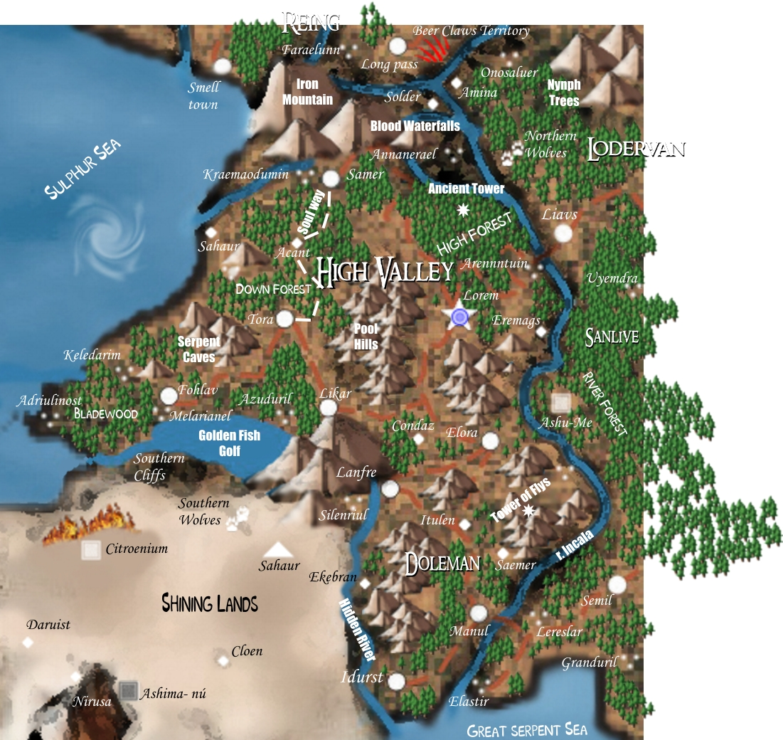 High Valley, an elf empire.