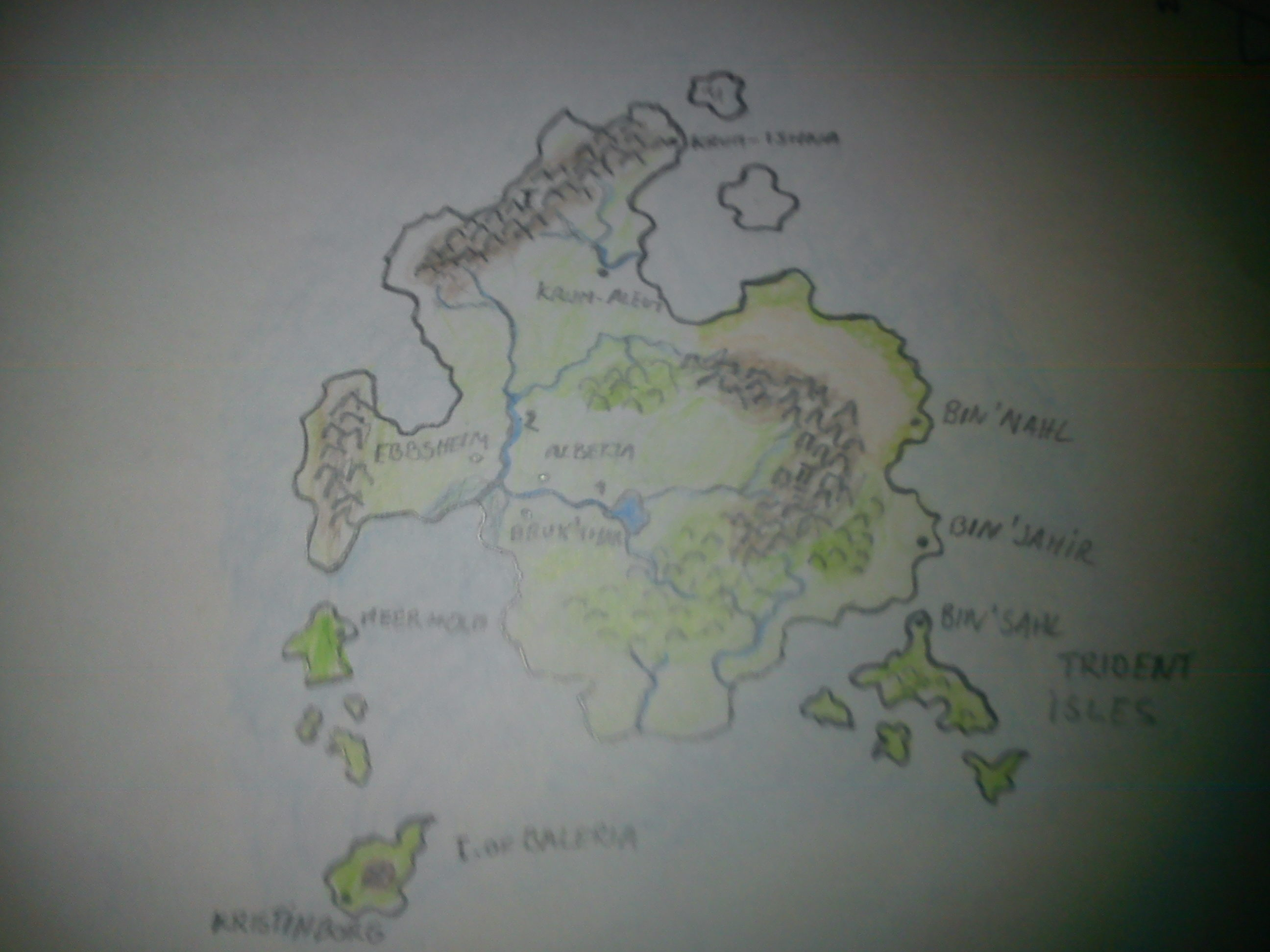 Hand-drawn: World of Florensis