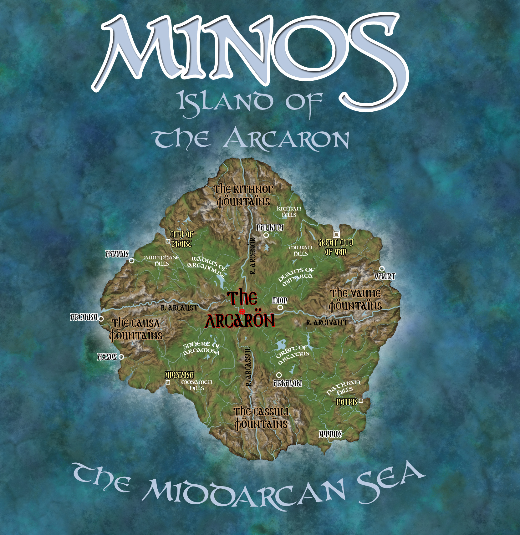 Minos isle of the Arcaron copy