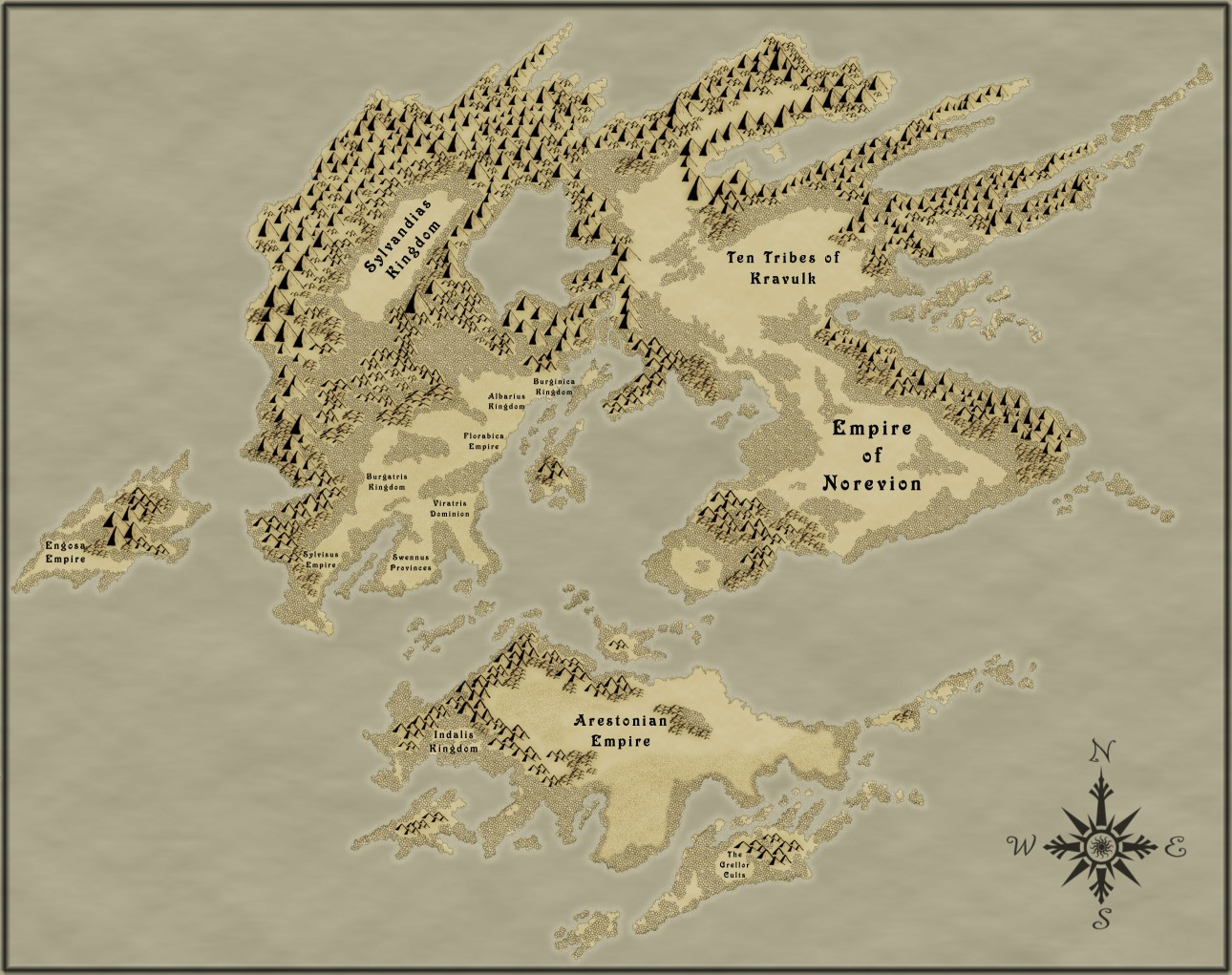 This is the current state of the map RPG map I am making.