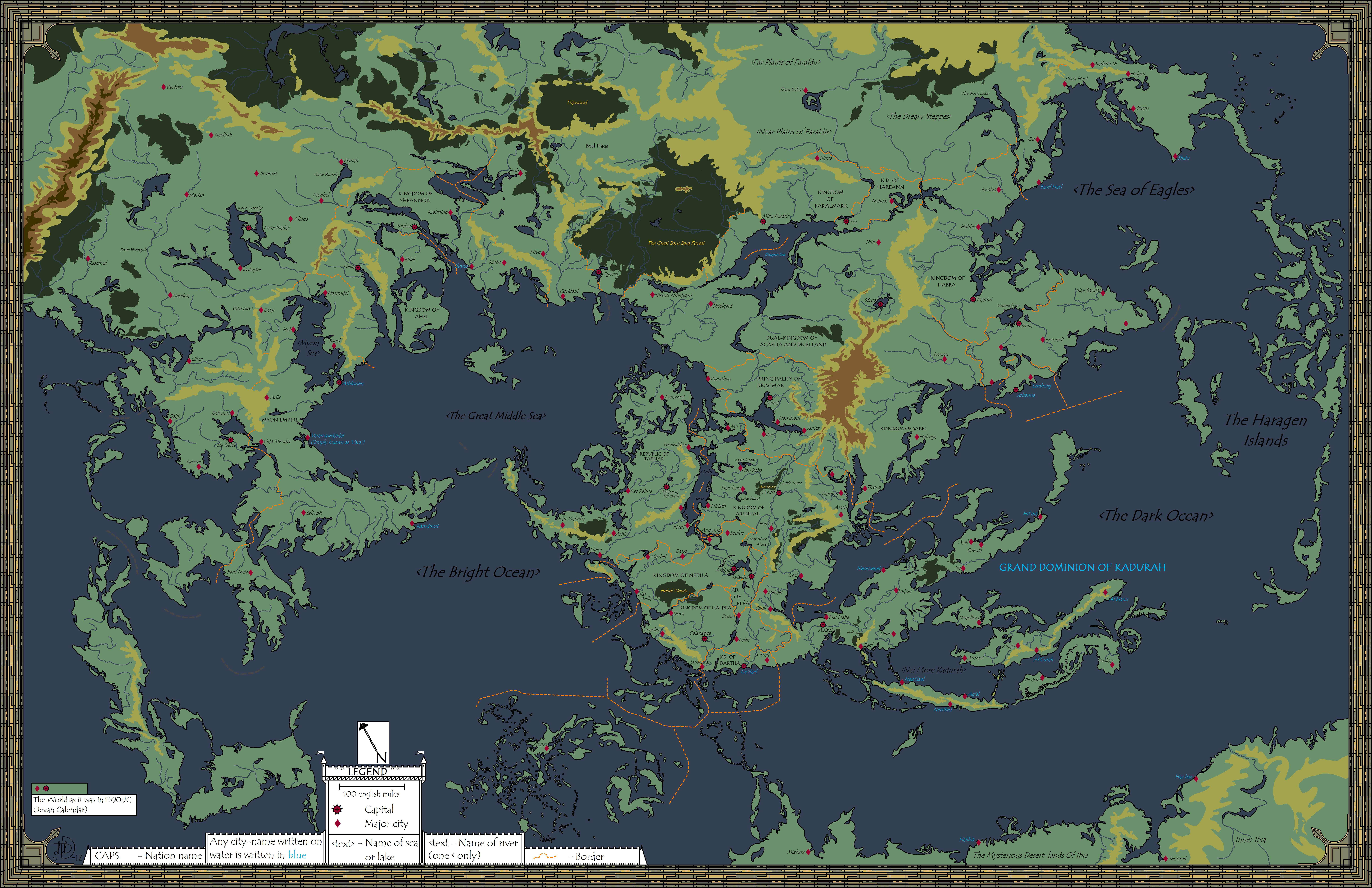 """dannes fantasy map gigantic forest 4""