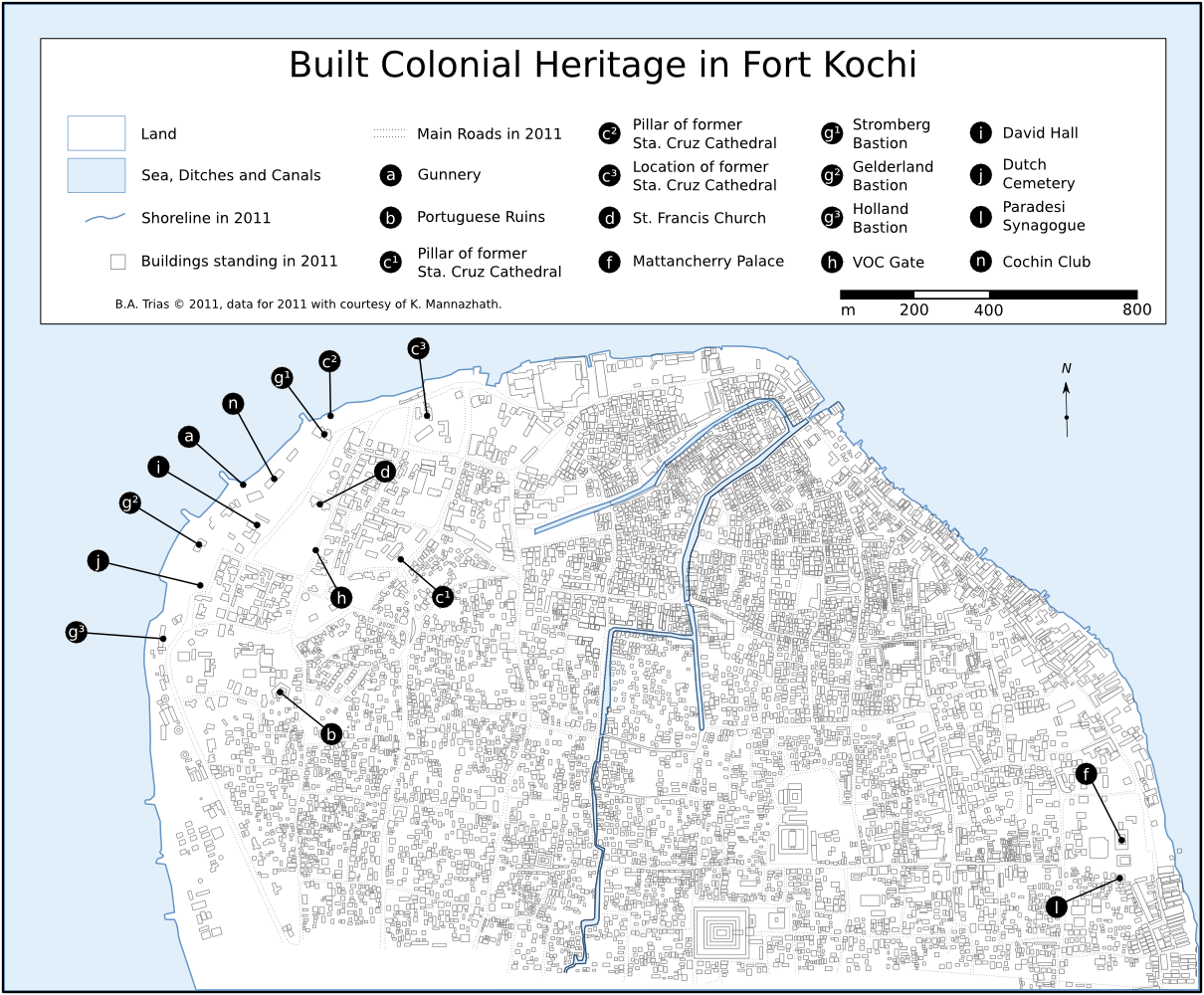 Built Colonial Heritage in Kochi