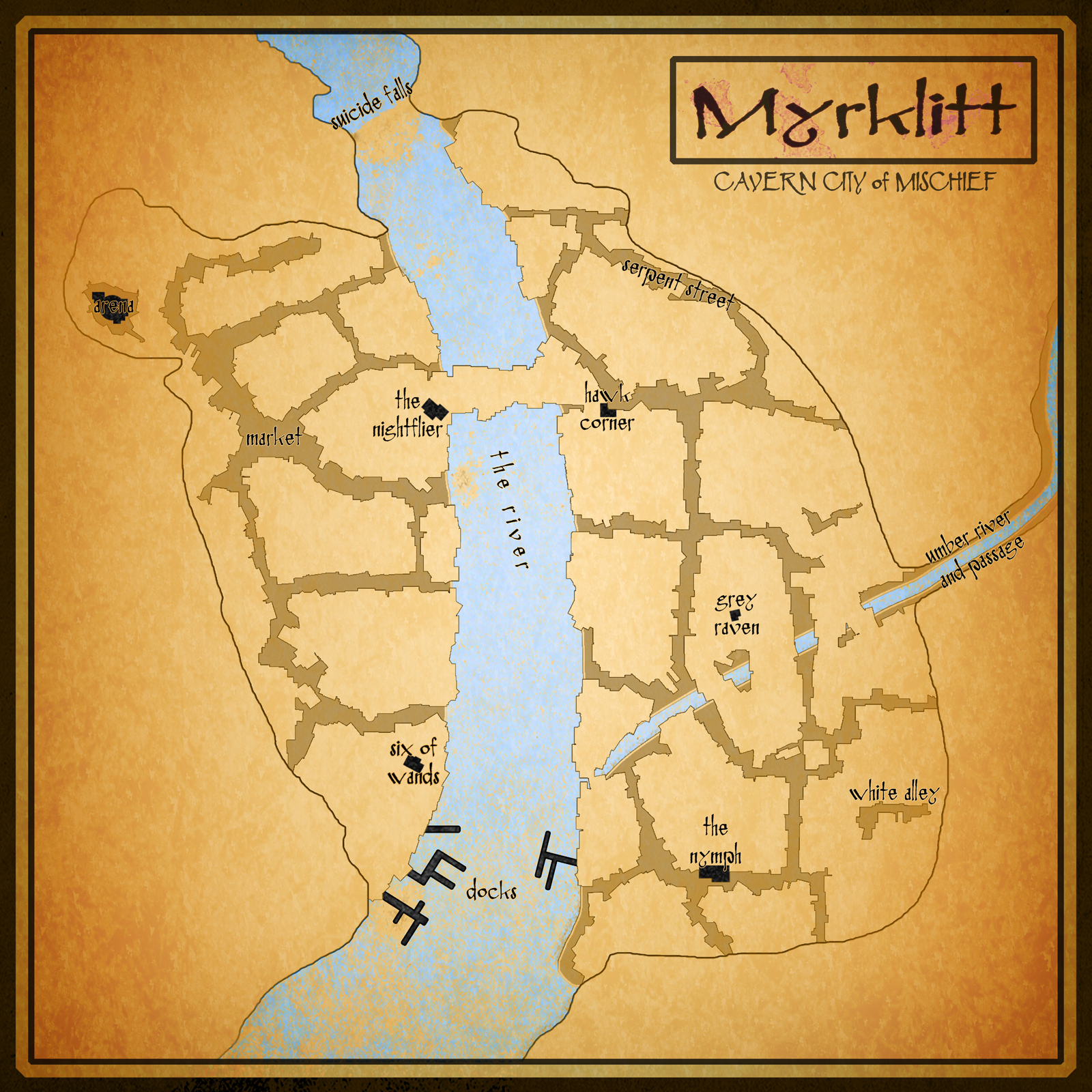 Myrklitt   City of Mischief