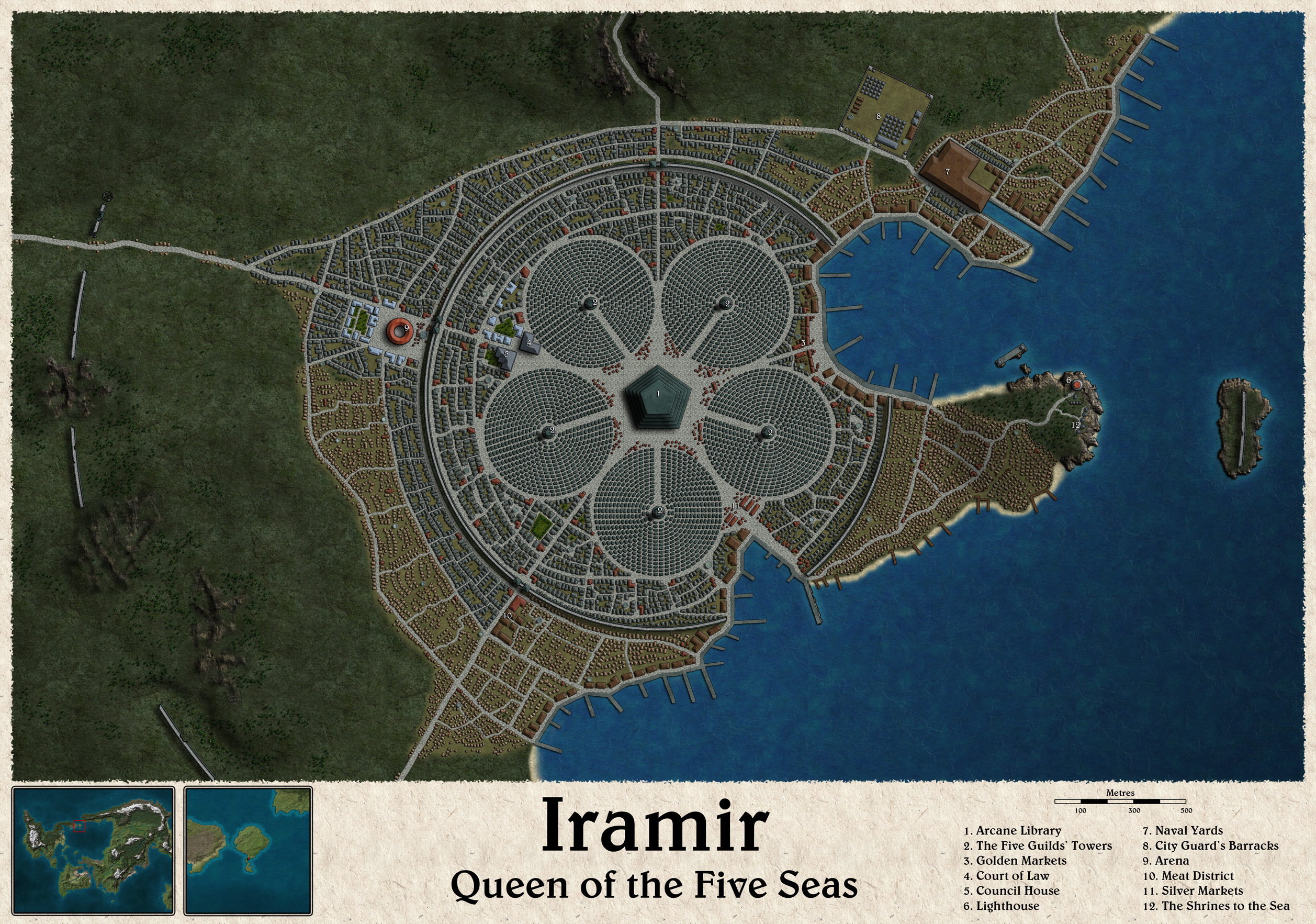The first attempt at doing Iramir was not good enough. Here it is the second. Bigger and, hopefully, better.