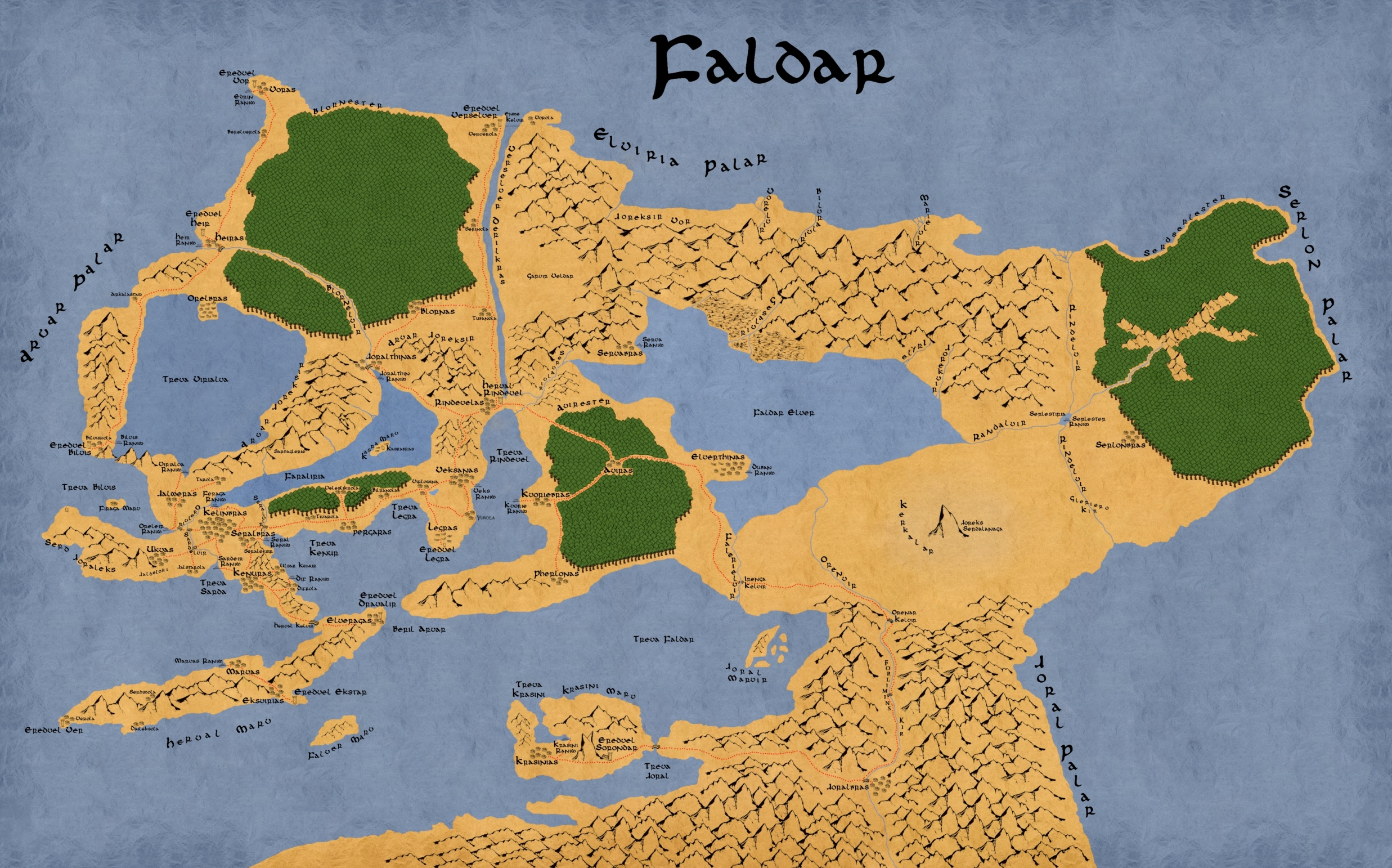 Faldar