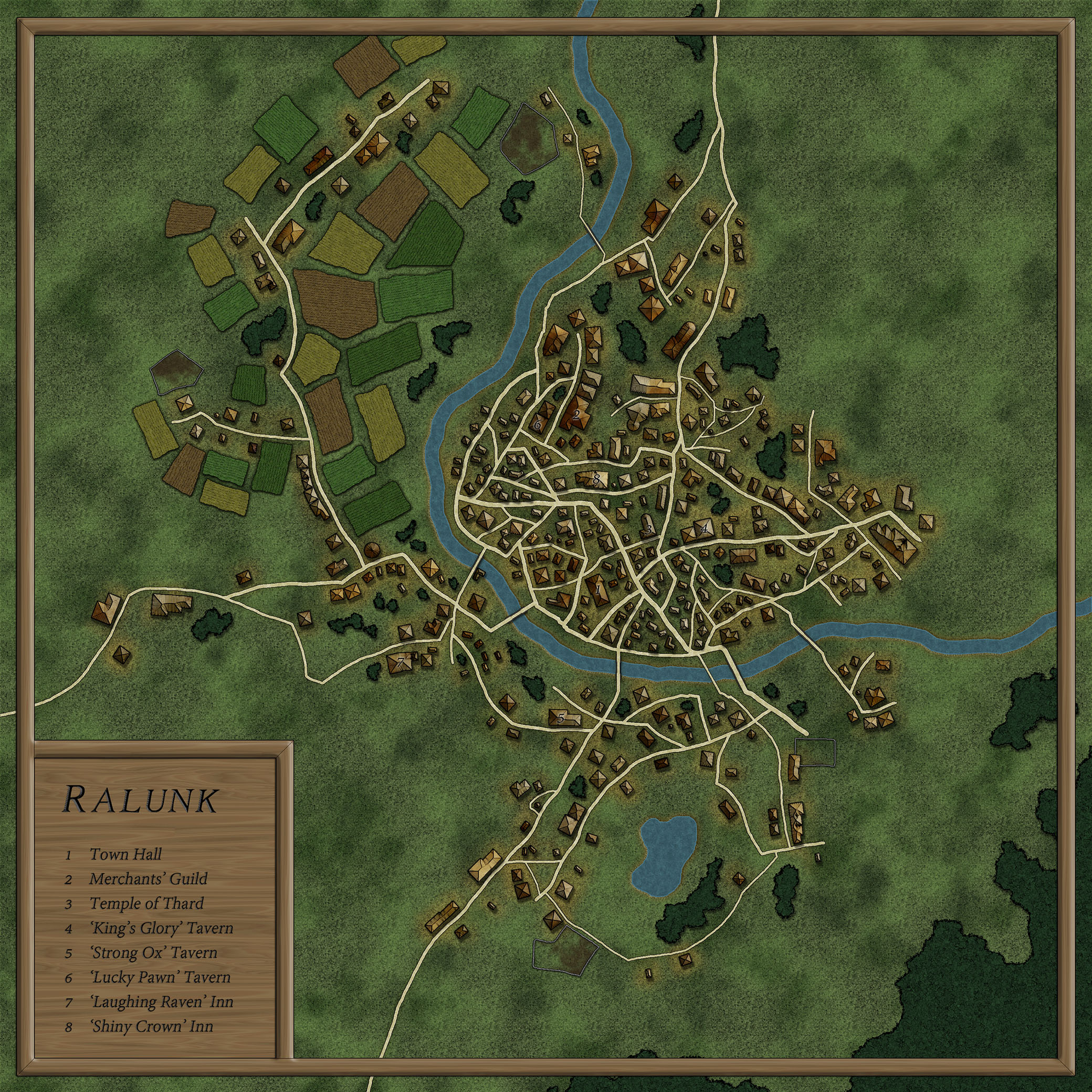 Ralunk - A map I made for a friend.