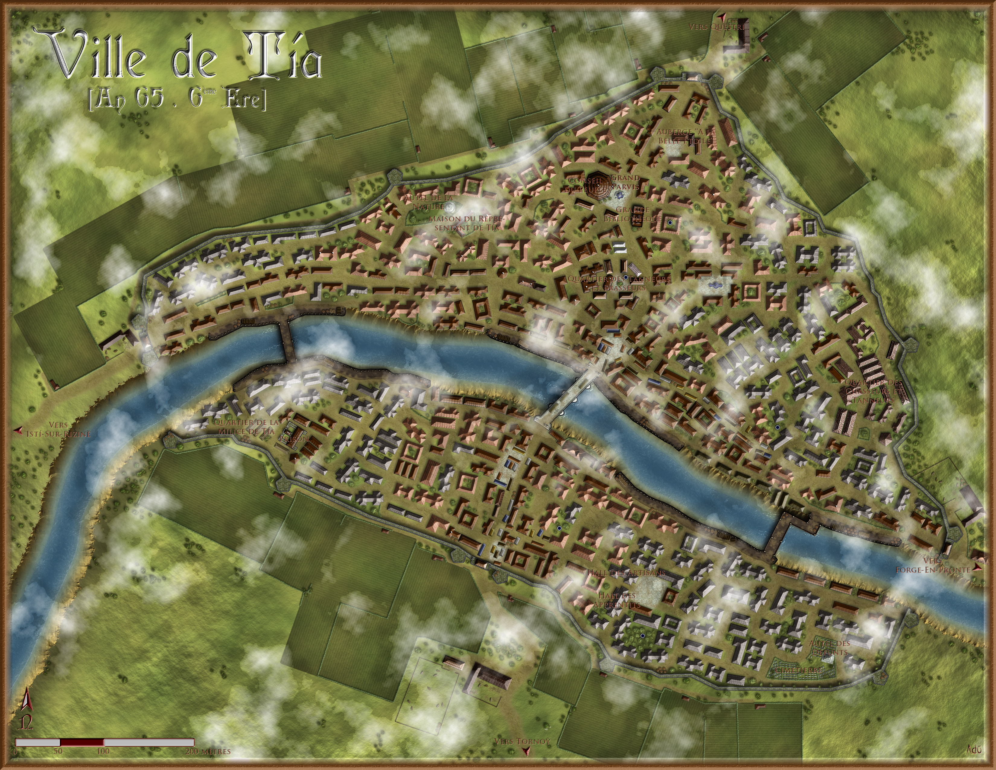 The city of T�a