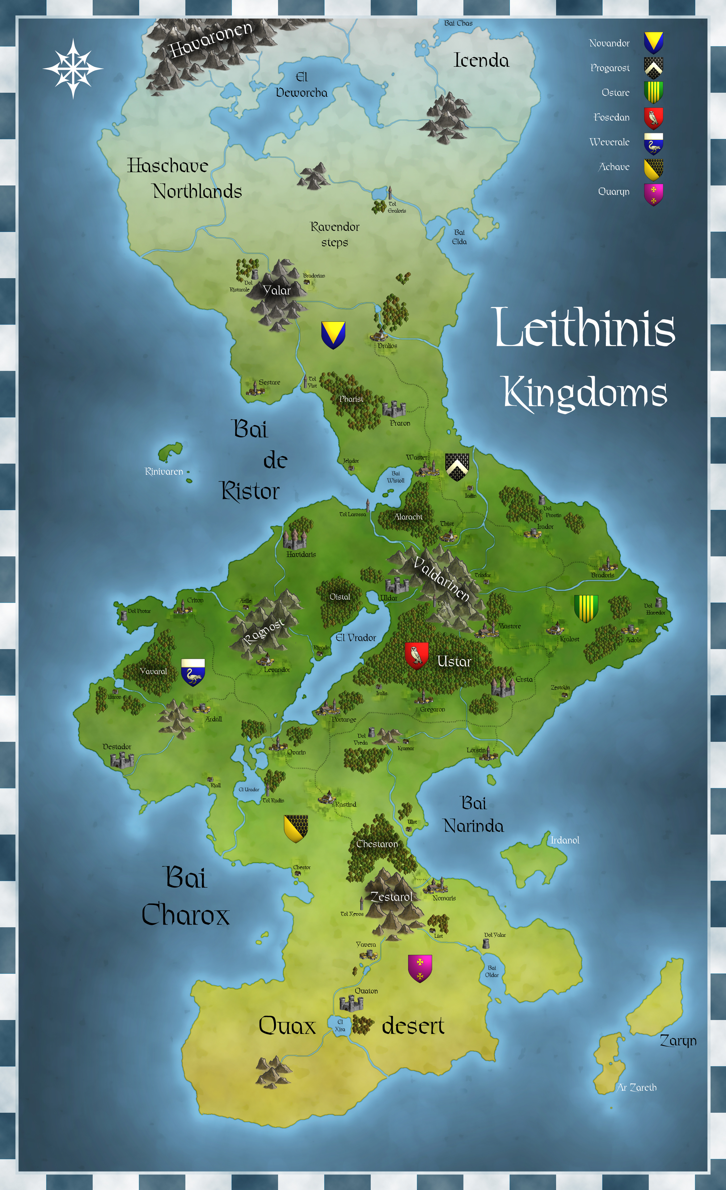 Leithins Kingdoms