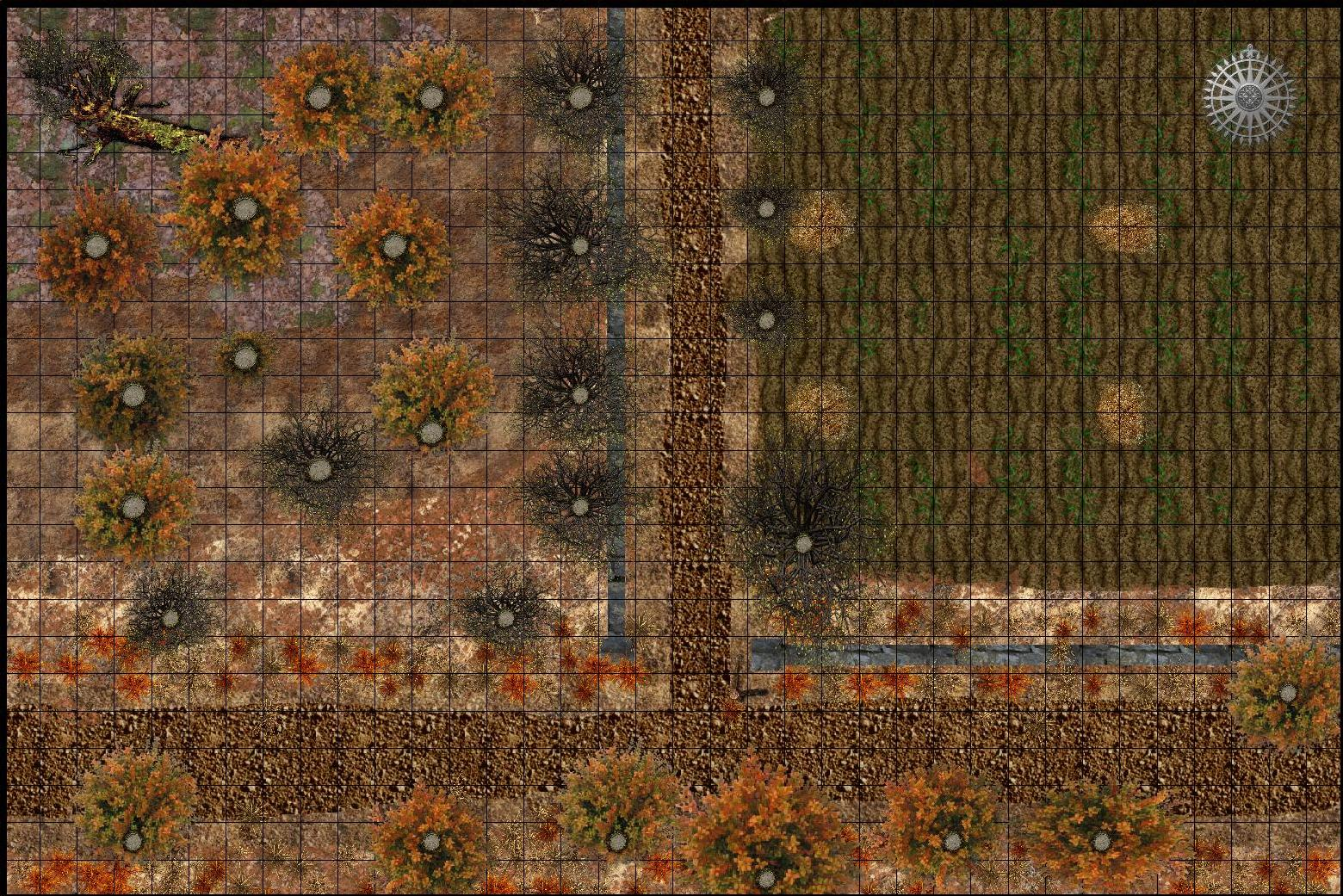 Autumn Map 2 Farm Edge