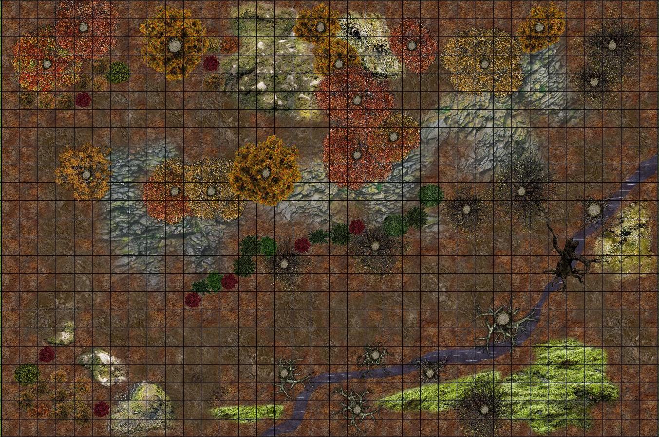 fall map