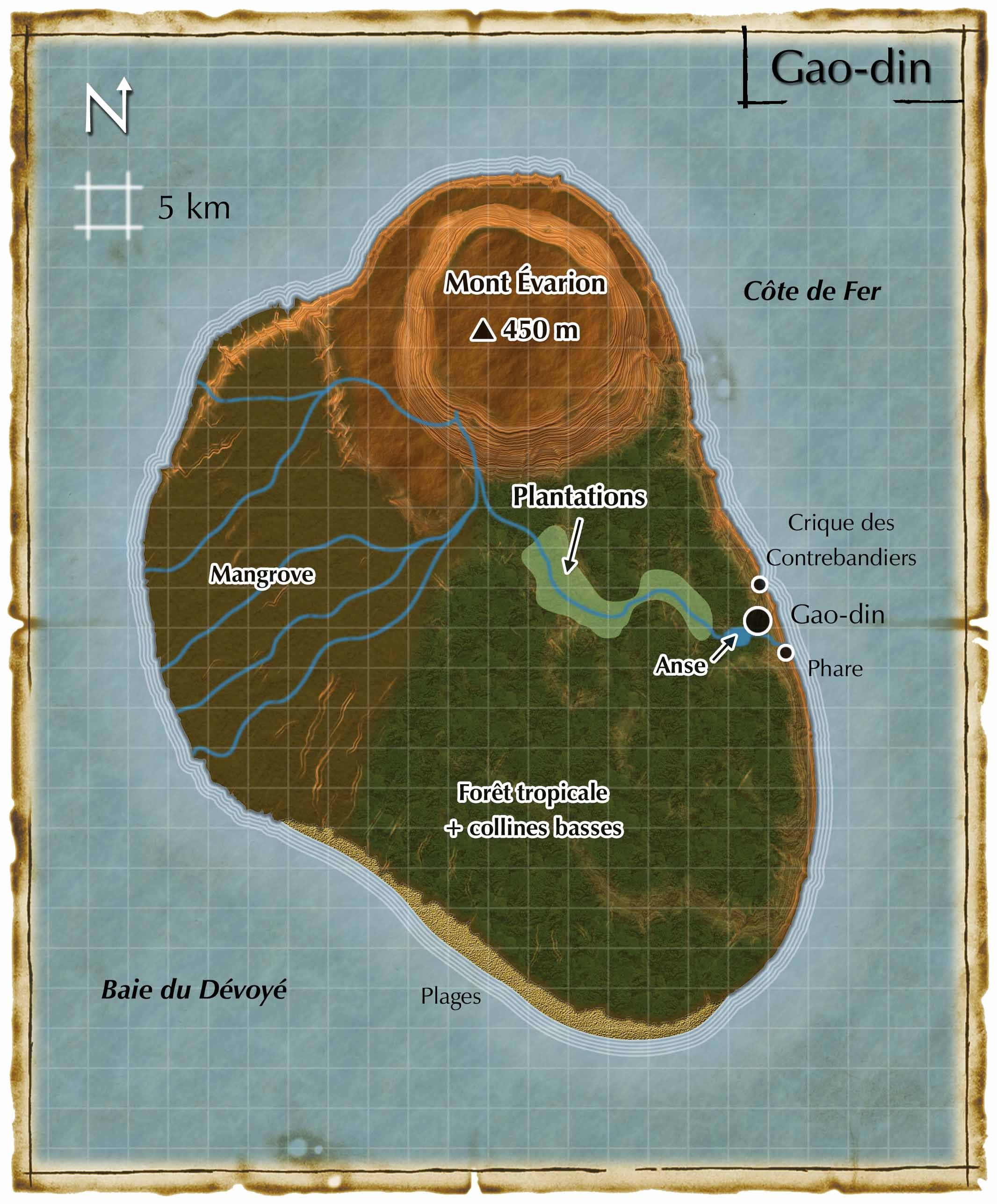 Diables des Mers (Gao-Din island) - Talislanta RPG (French version)