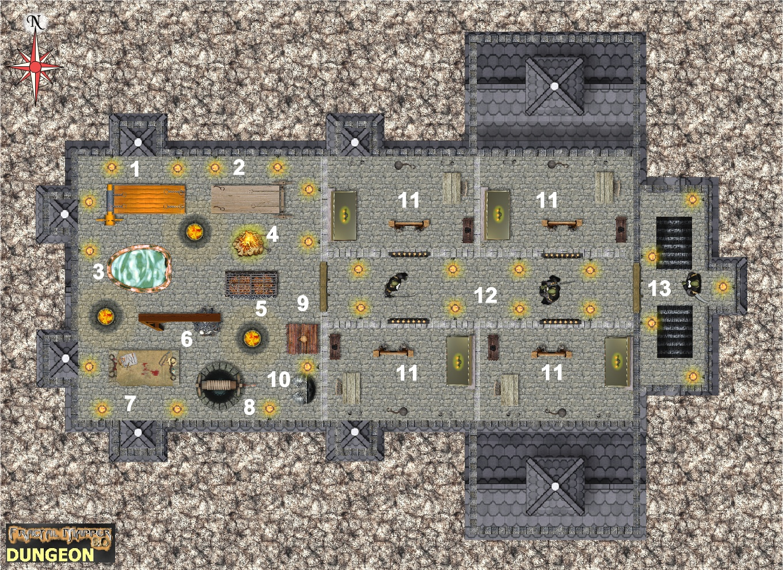 11wk45 bonehalldkdrauglair dungeon