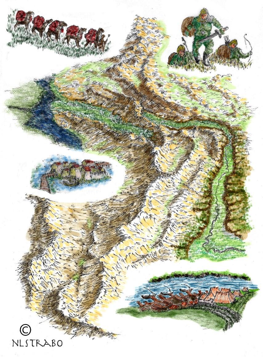 Caravan trail - Nedeh saga