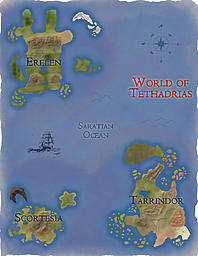 Finished Maps of Tethadrias