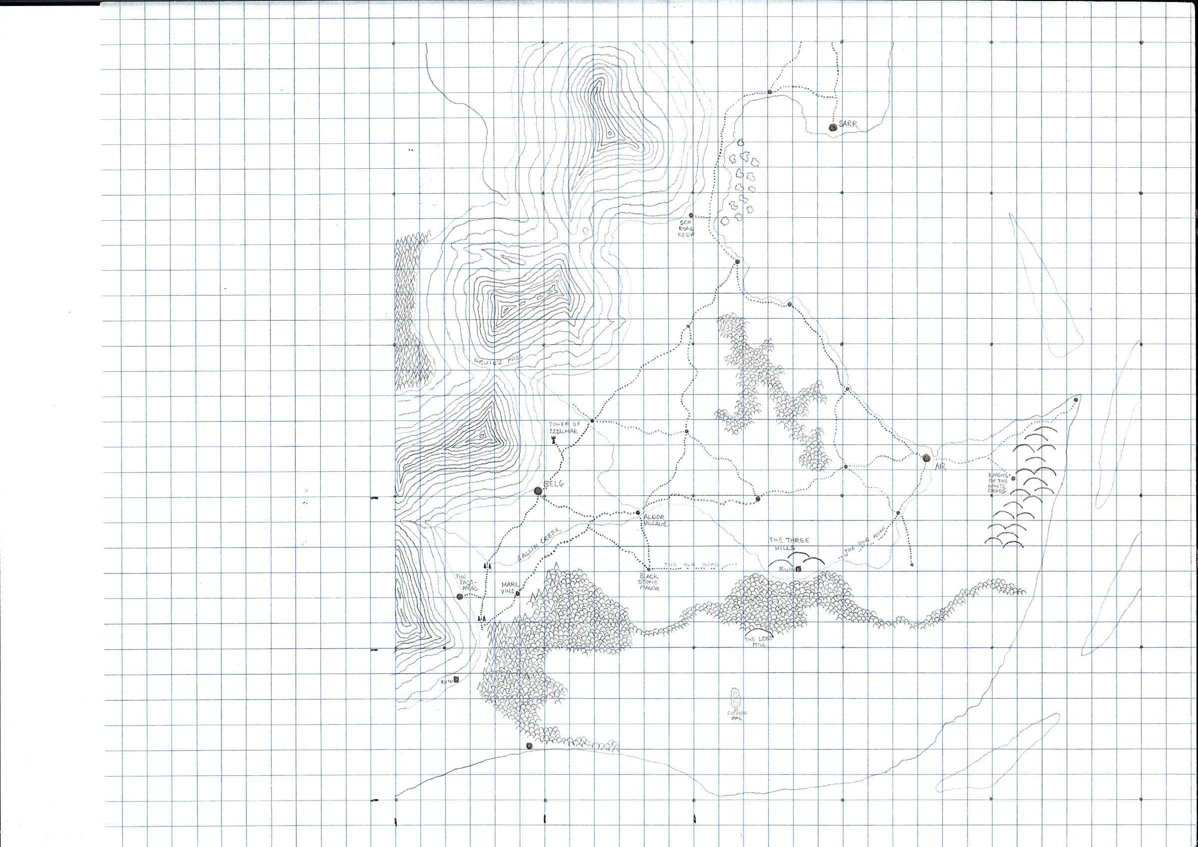 SARR - The Kingdom of Sarr.  I never got around to finishing this map.