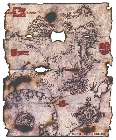 Rune Treasure Map