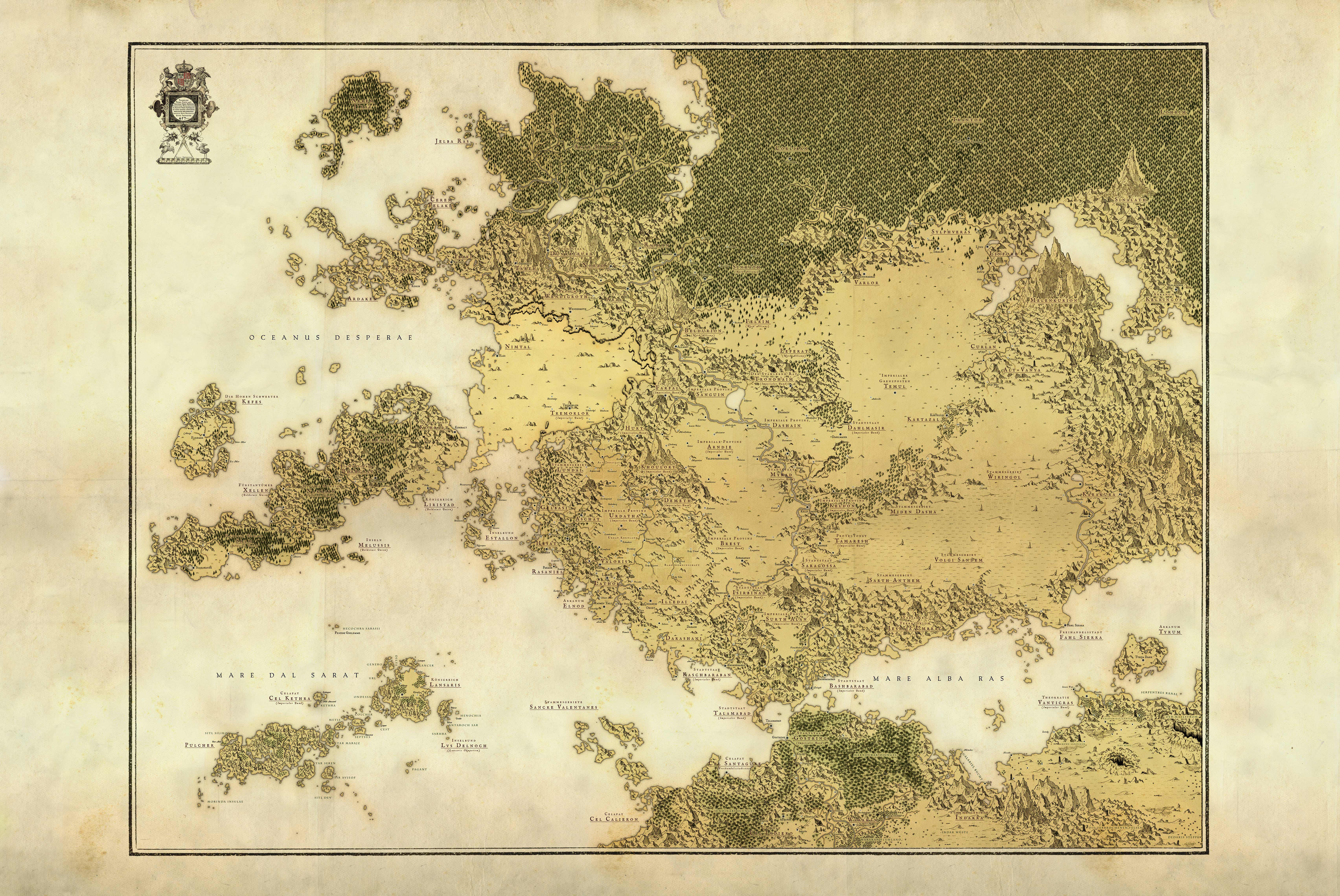 Classic Arden Map