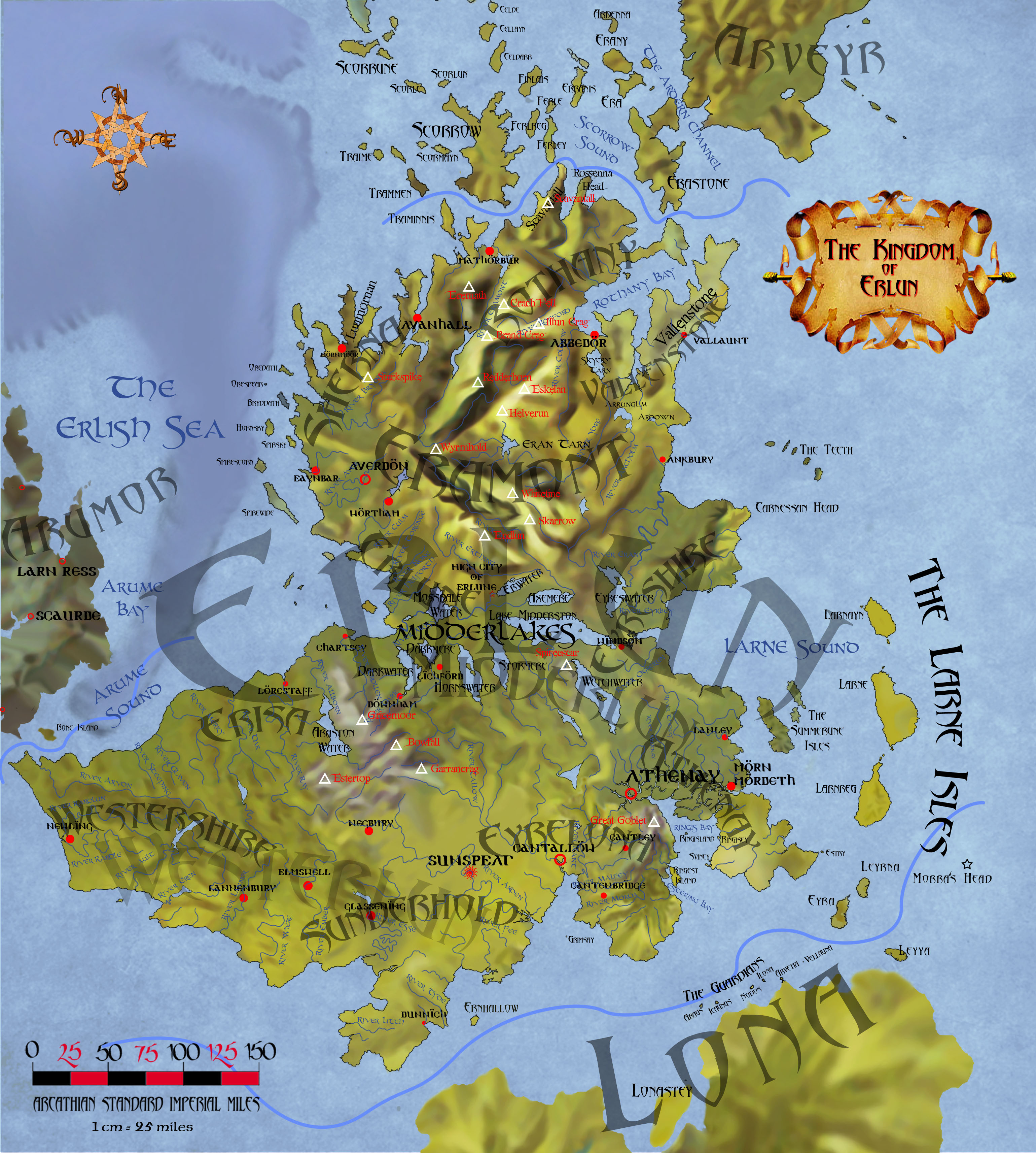 The kingdom of Erlun