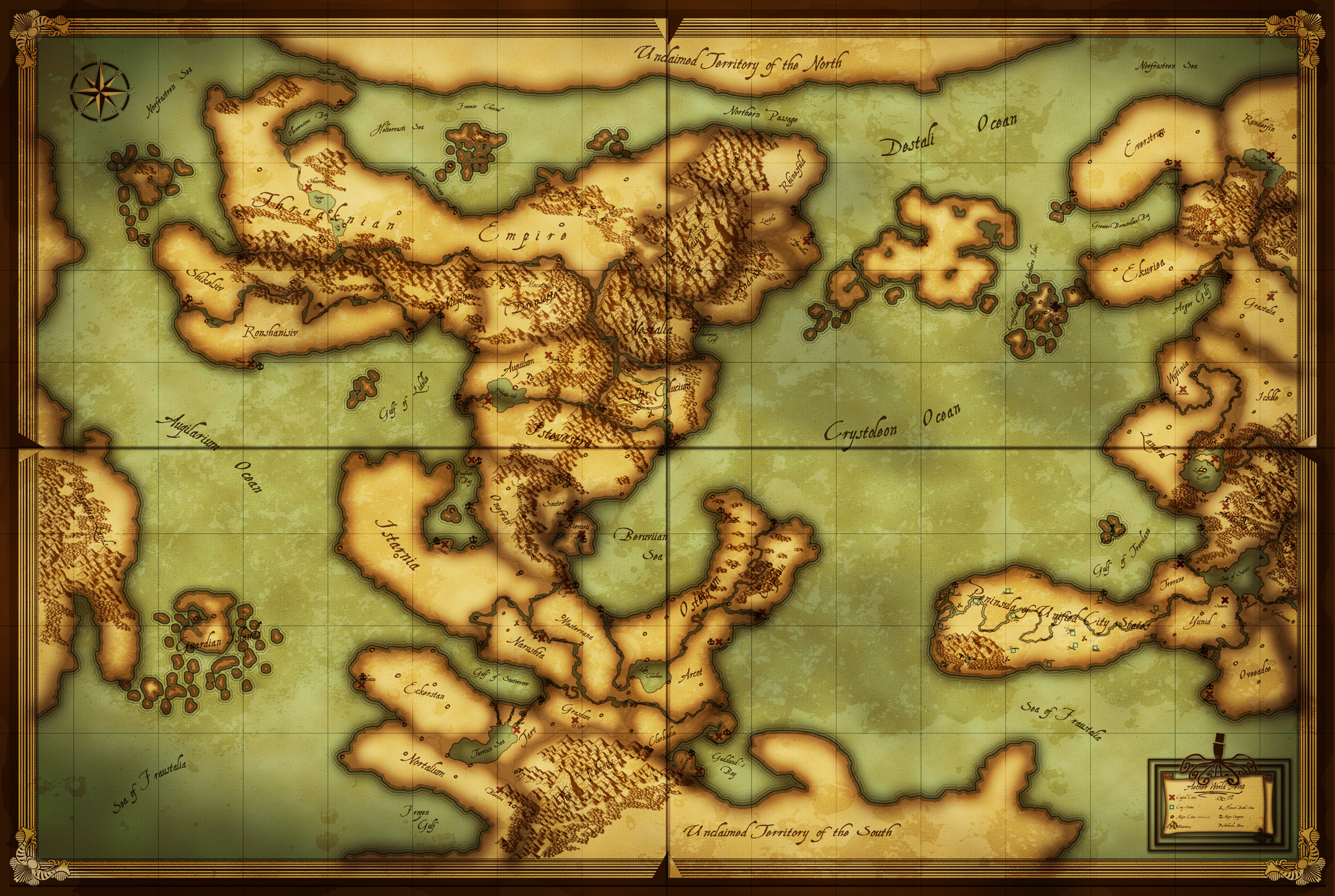 Photoshop World Map (Mercator, Long and Lat) Small