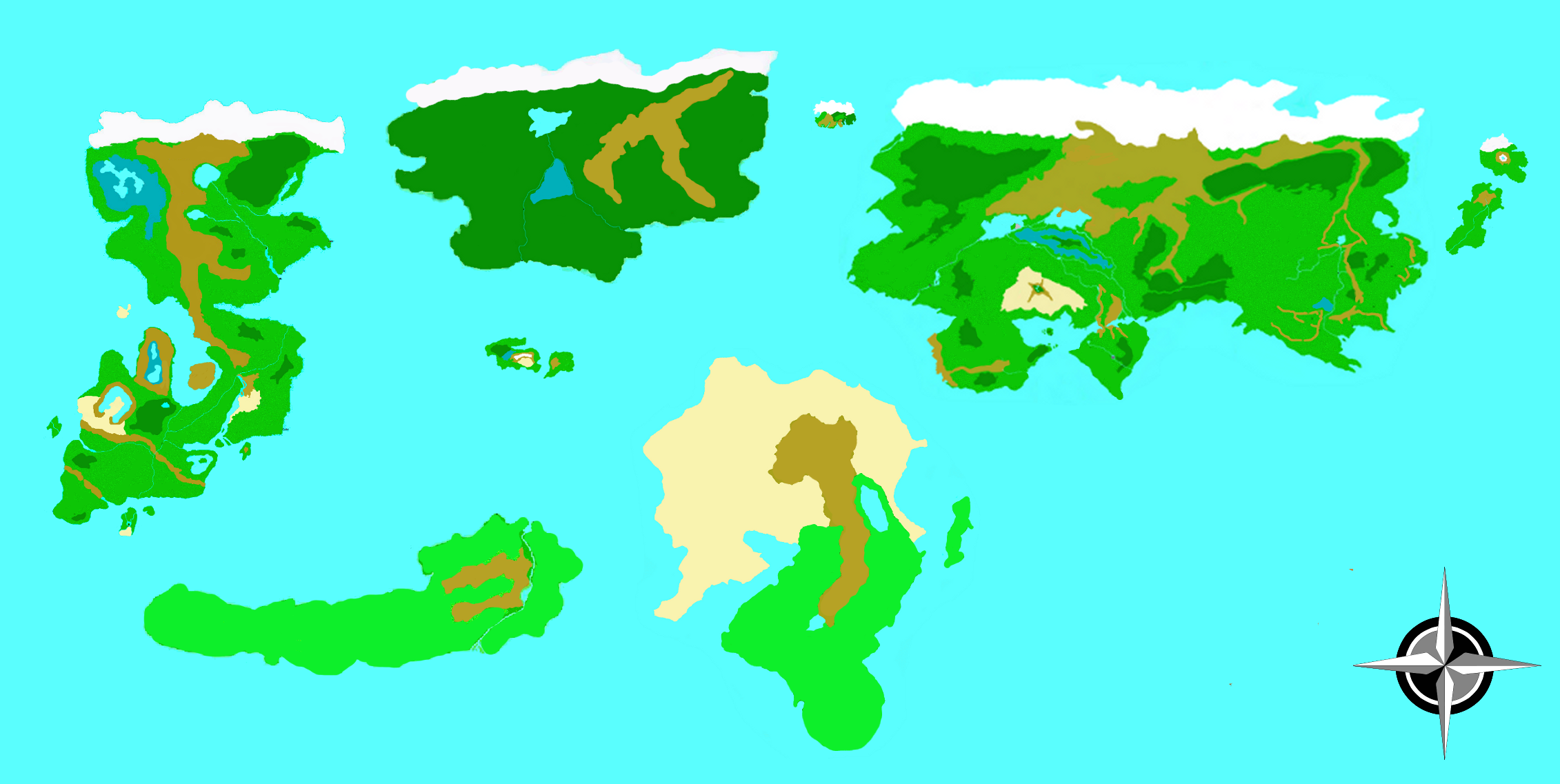 Kalam   Worldmap