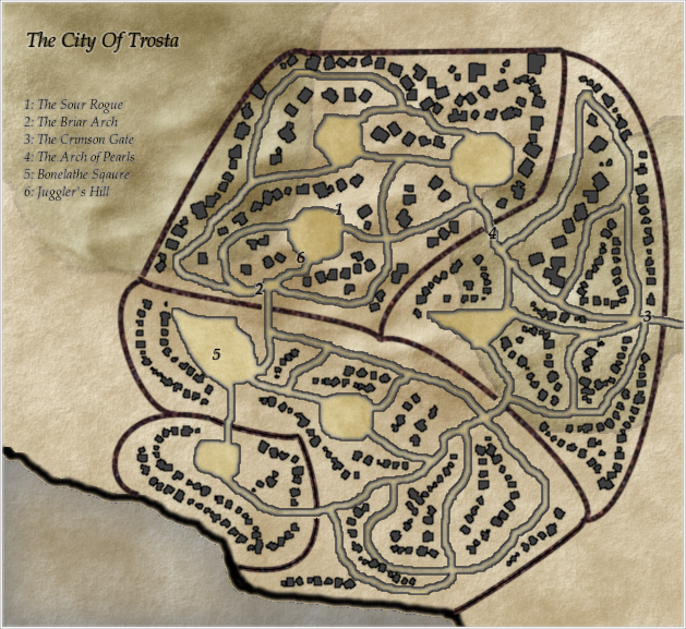 The city of Trosta