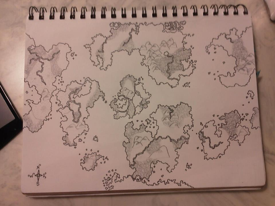 My Newest Map, Digital Version on the way.