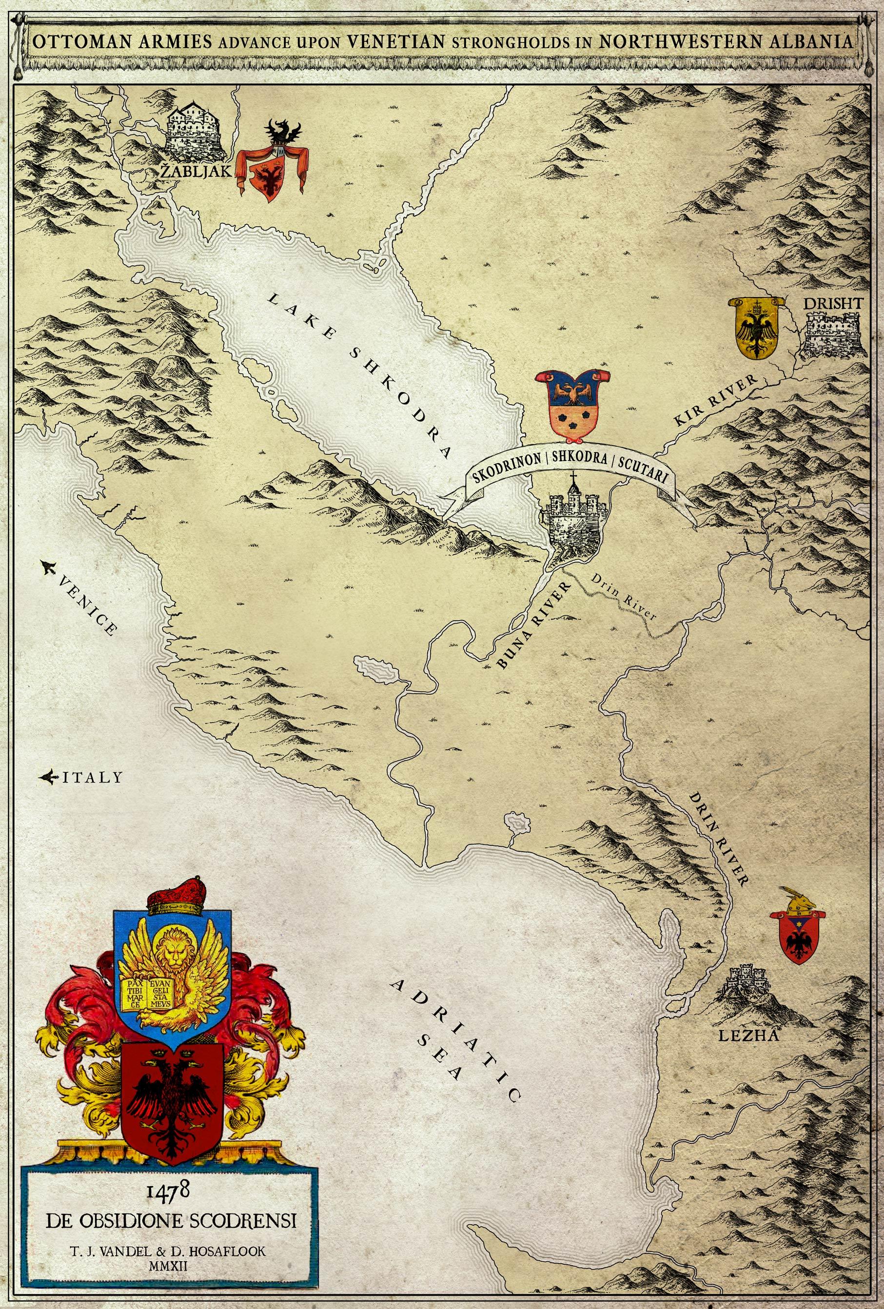 Siege of Shkodra