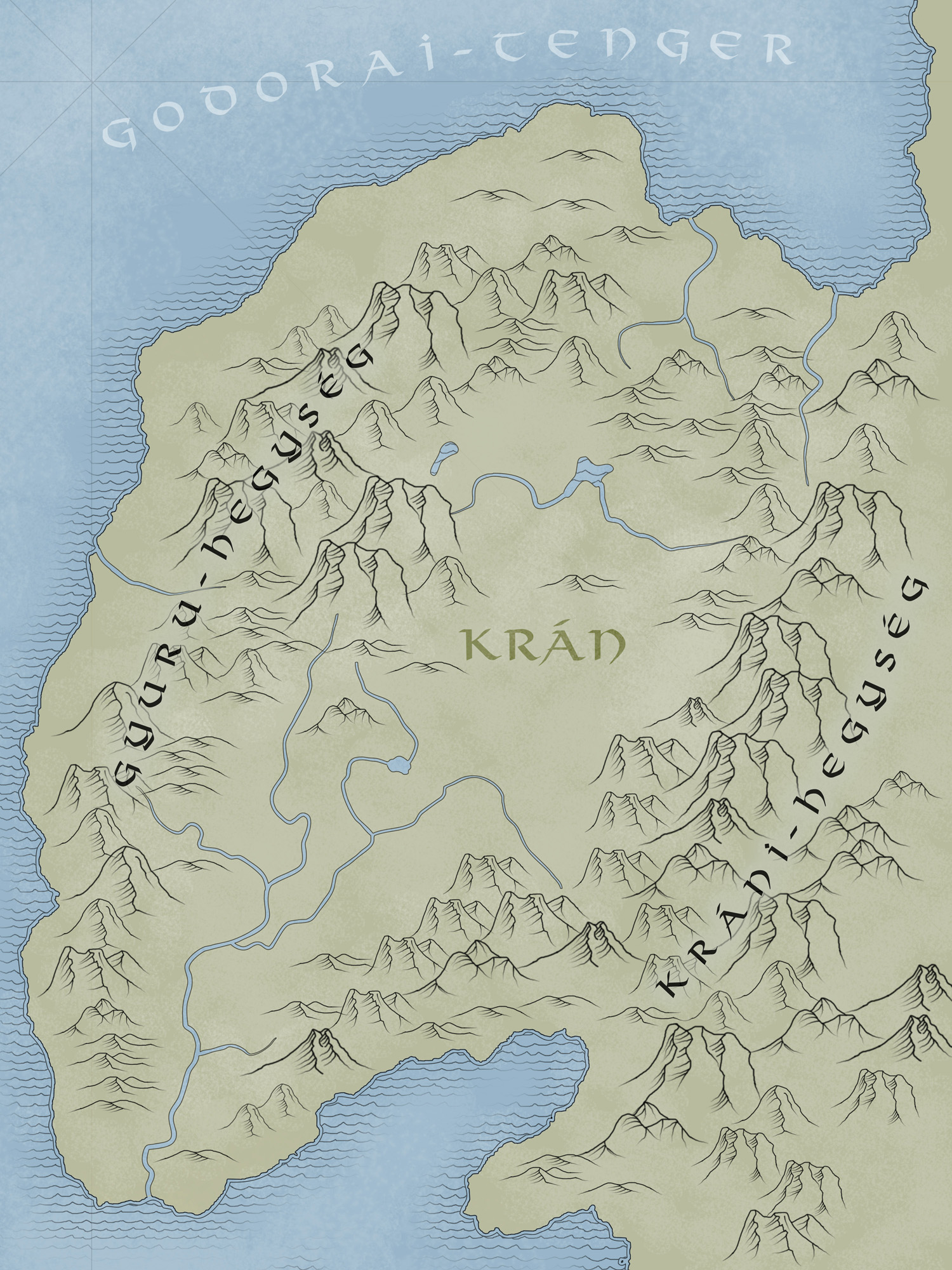 Ynev - Kran v2.0 (Country Map)