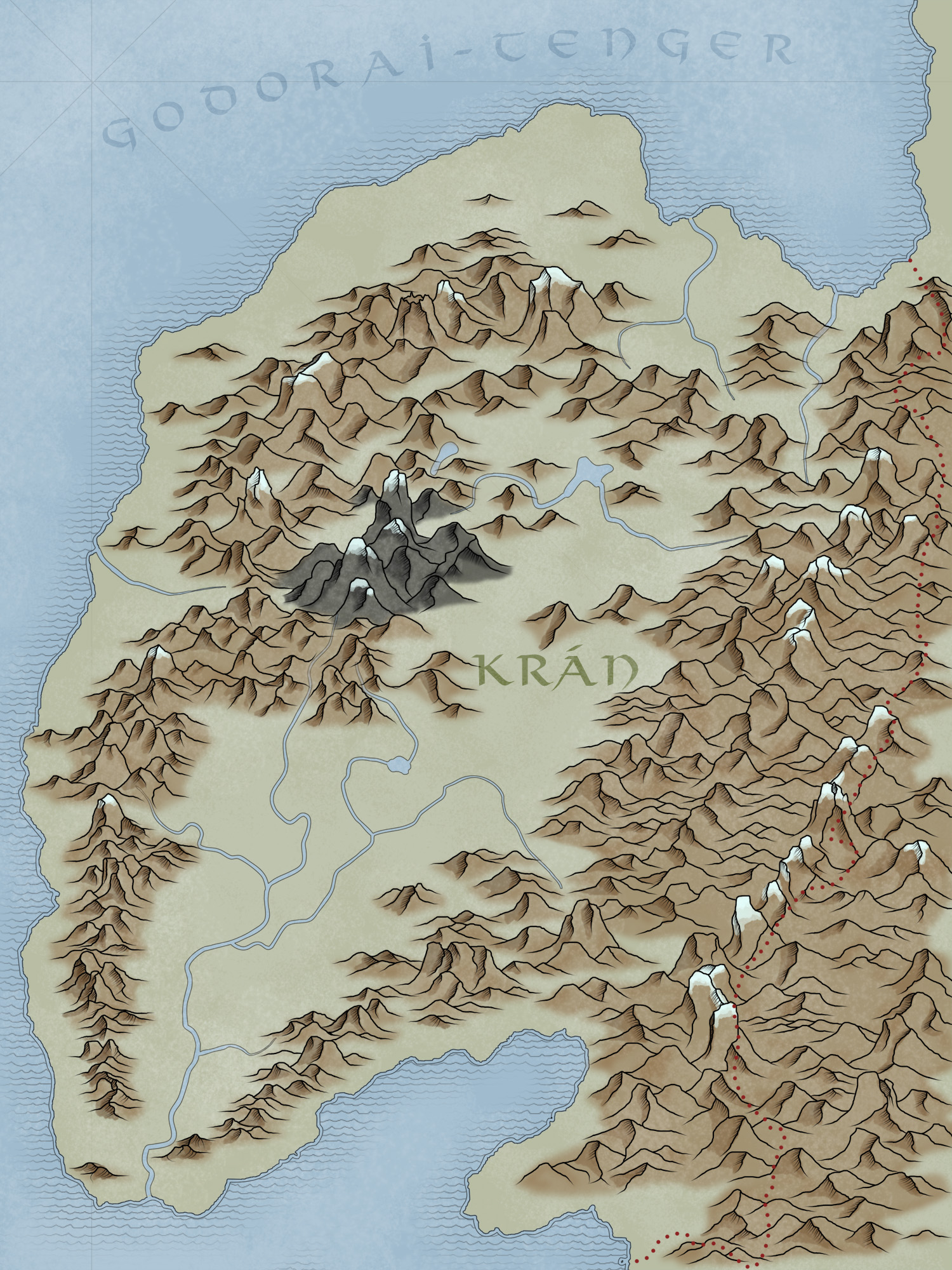 Ynev - Kran v3.0 (Country Map)