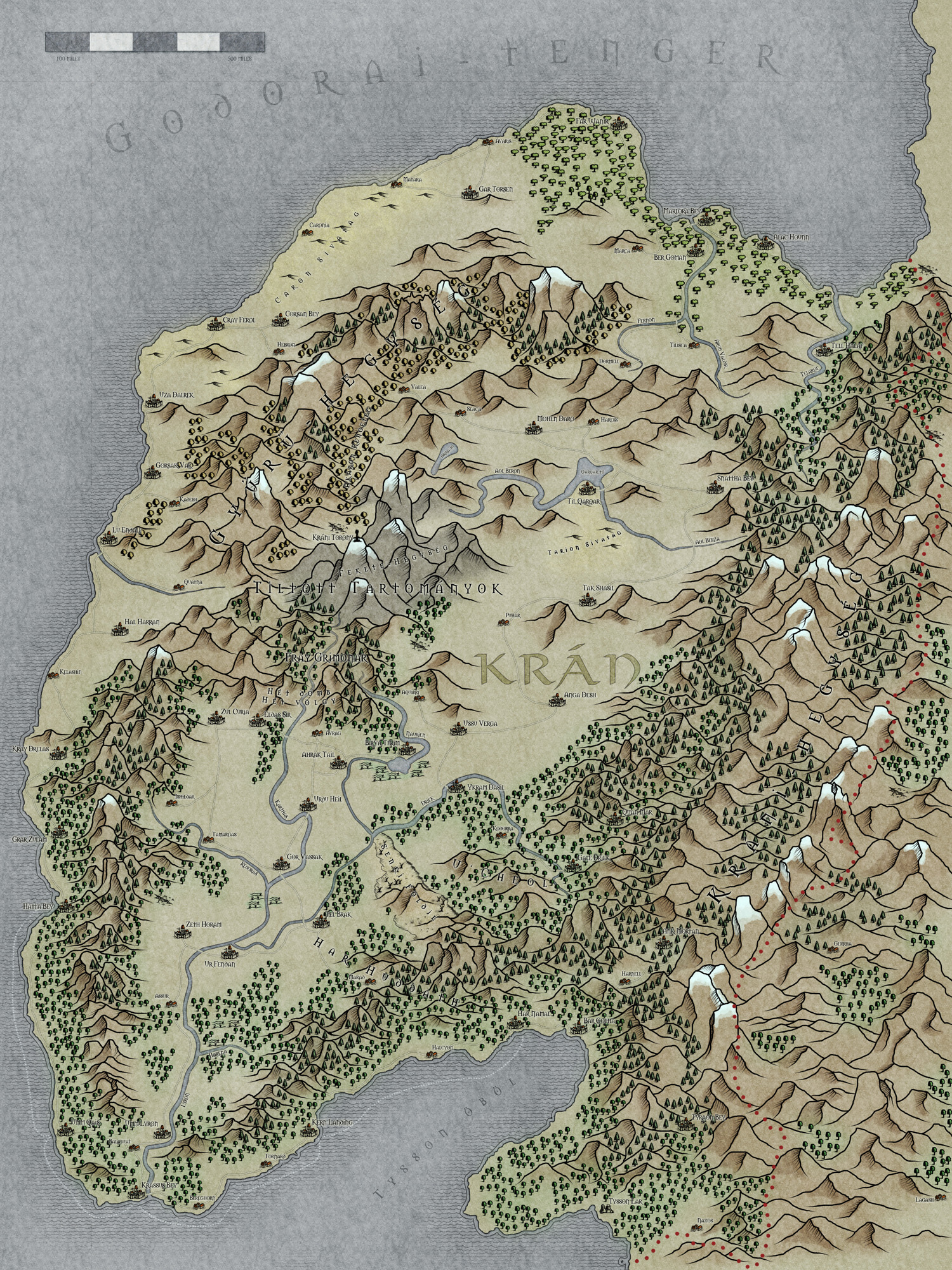 Ynev - Kran Final (Country Map)