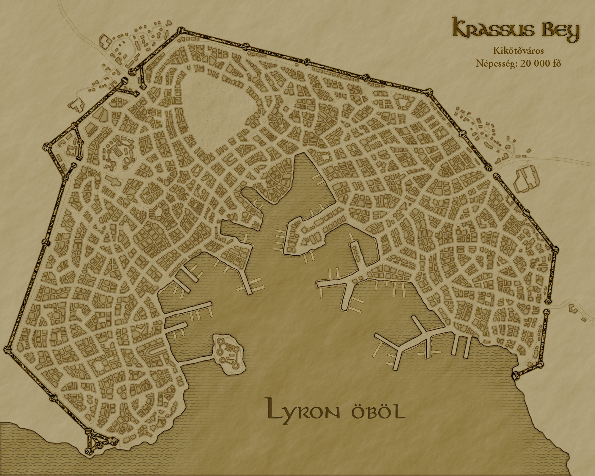 Krassus Bey (City Map)