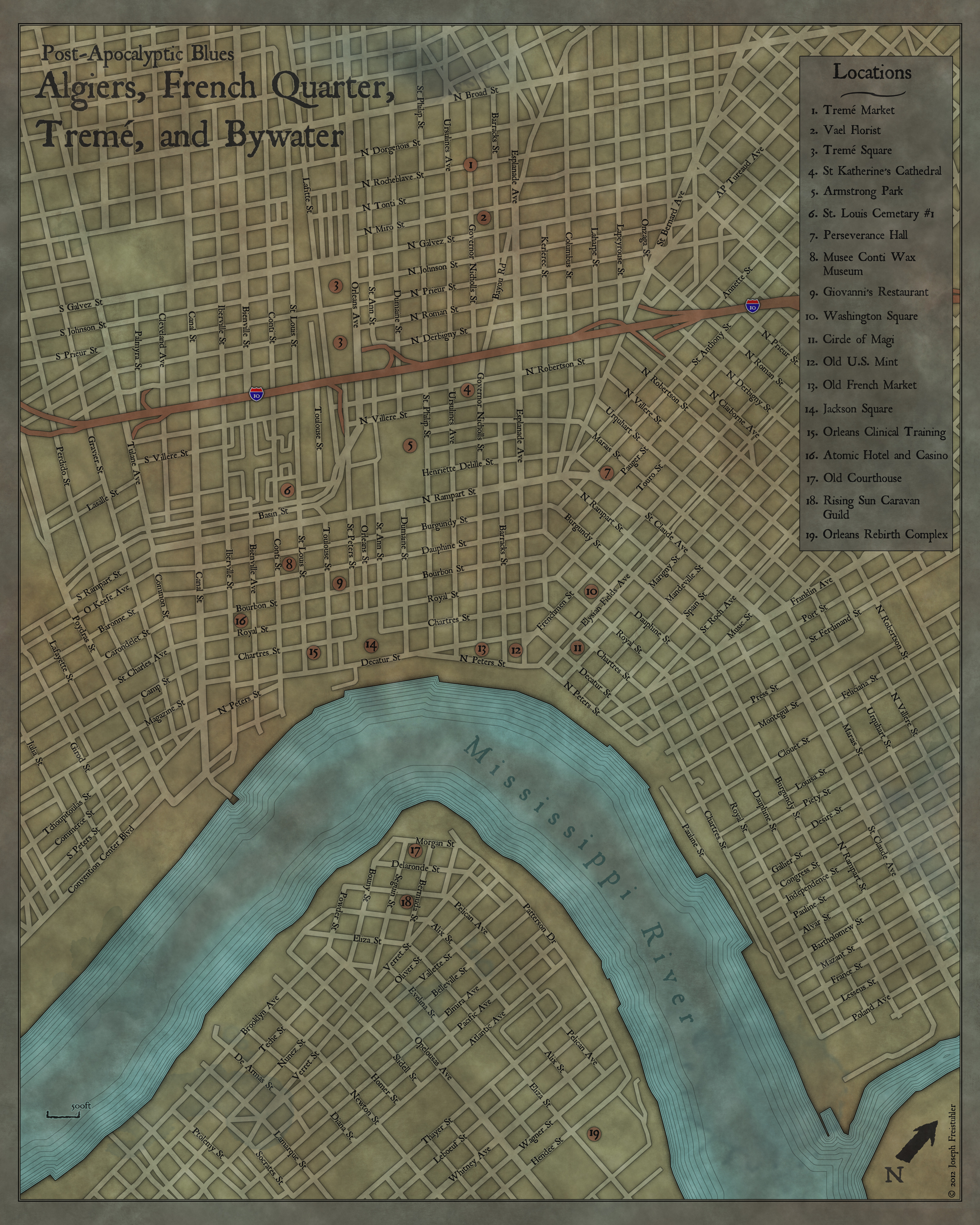 nola city map final