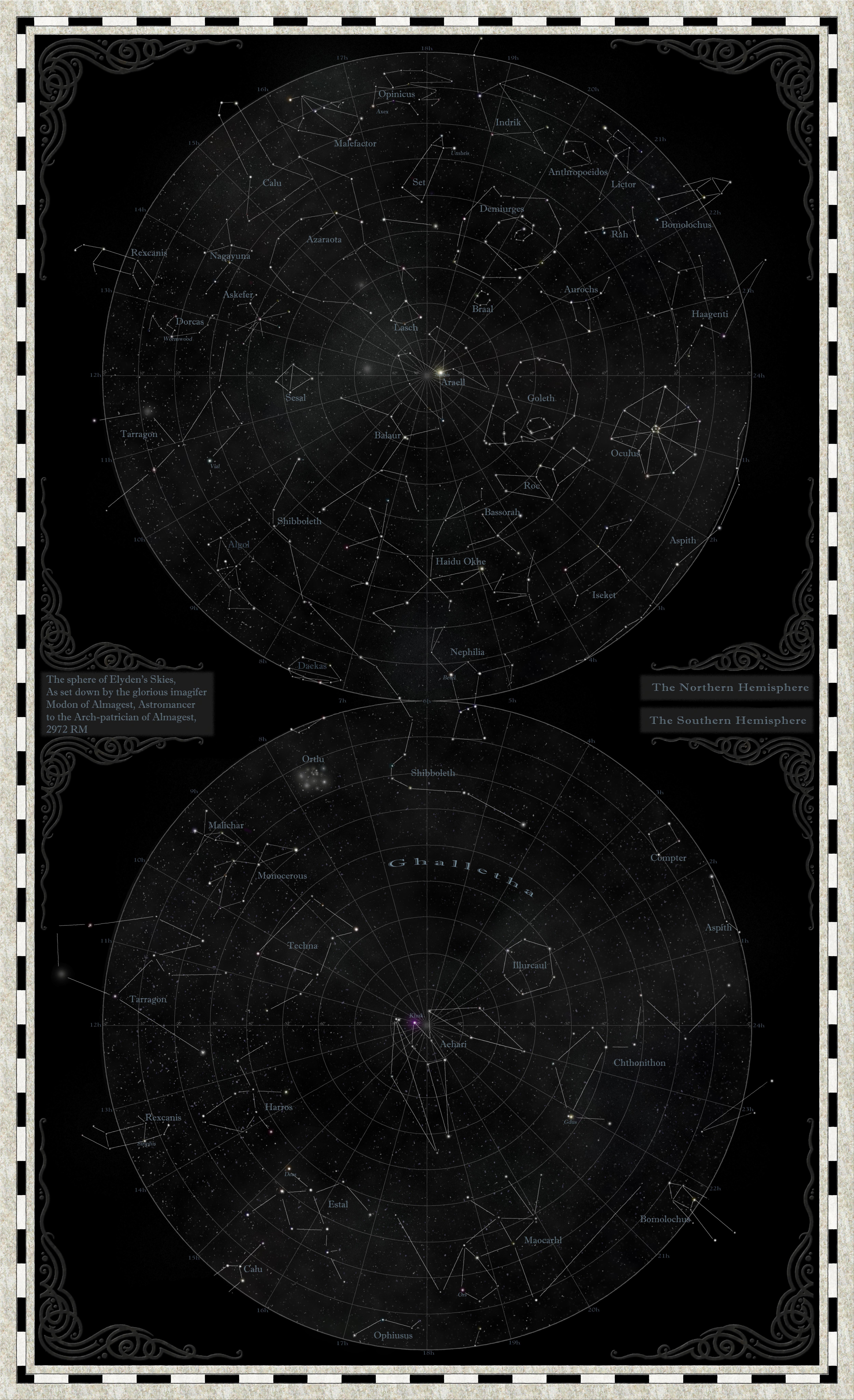 STAR map flat